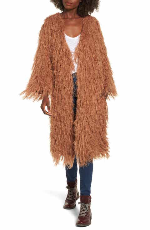 collarless coat | Nordstrom
