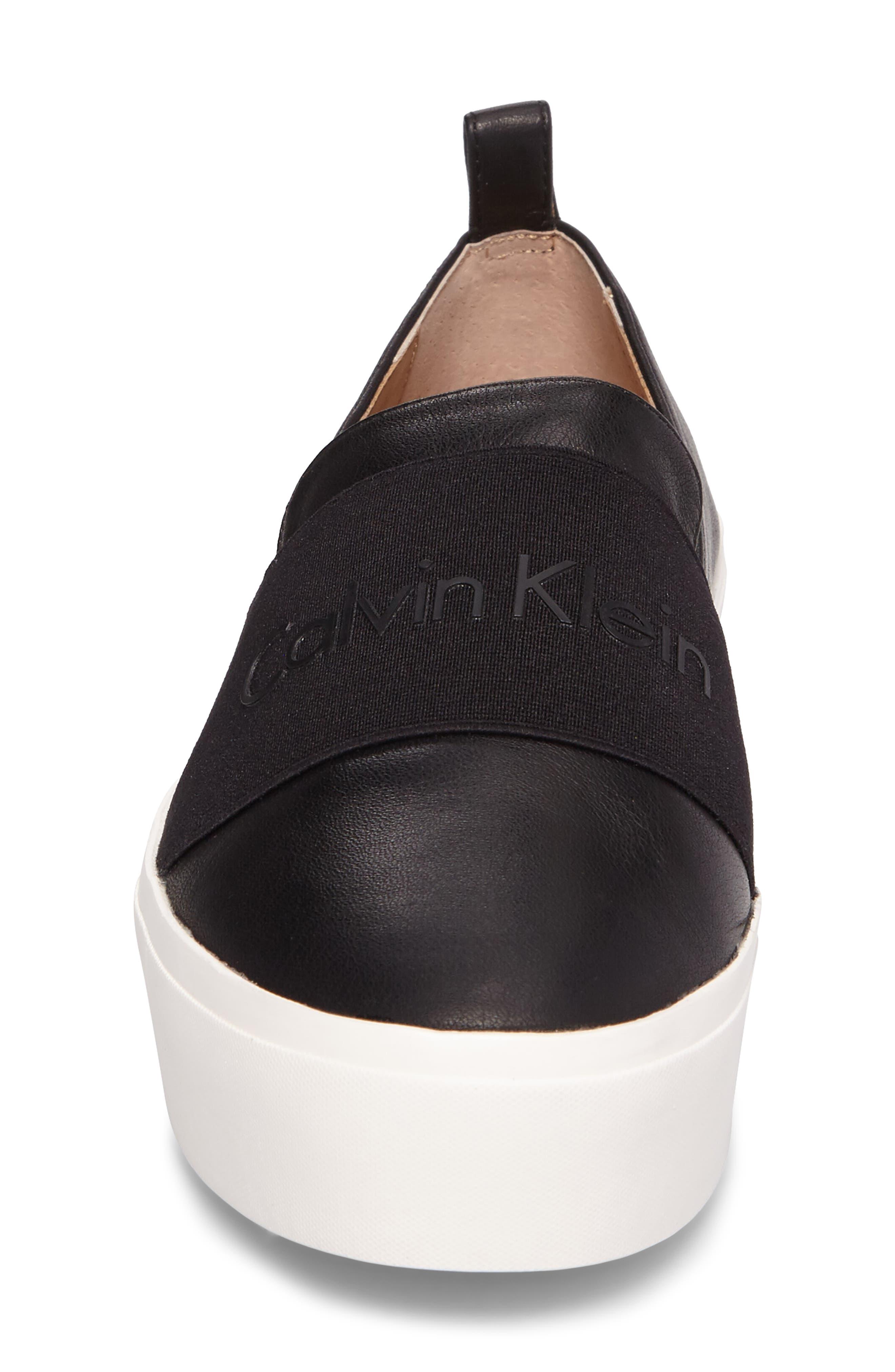 Alternate Image 4  - Calvin Klein Jacinta Platform Sneaker (Women)