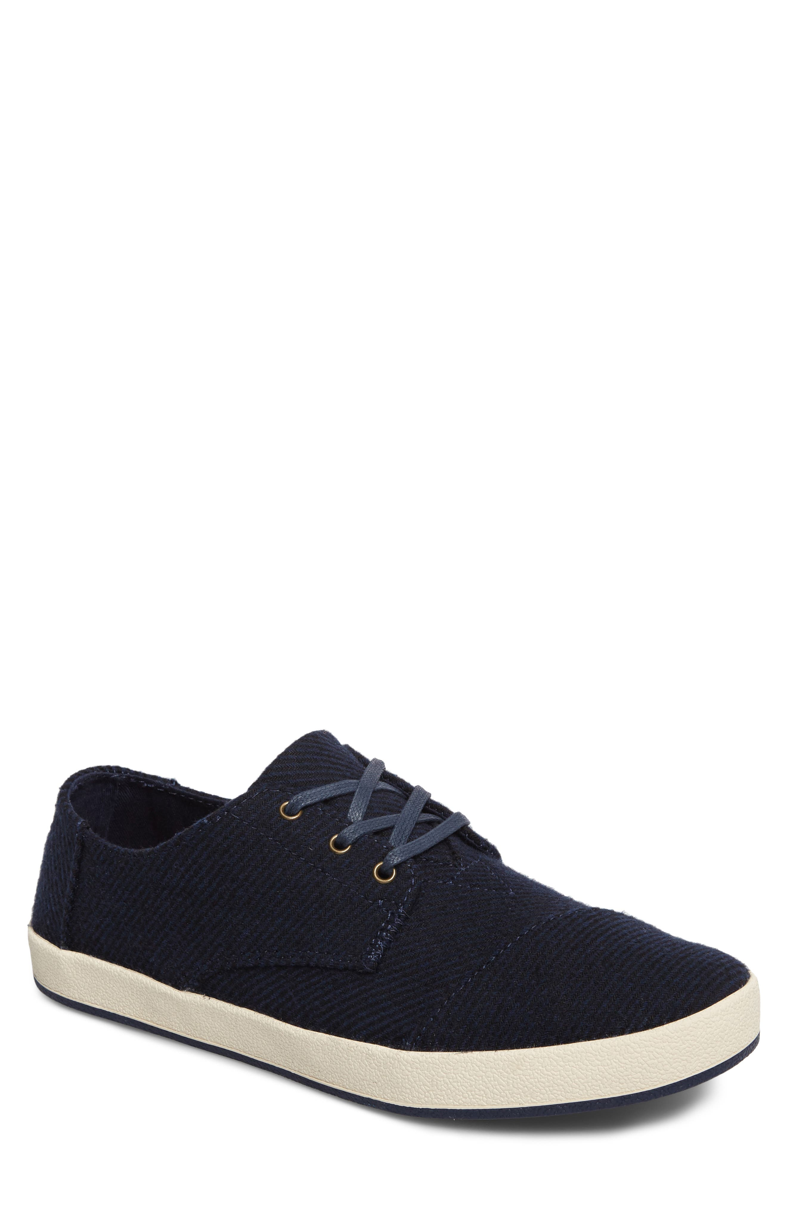 'Paseo' Sneaker,                         Main,                         color, Navy Blend