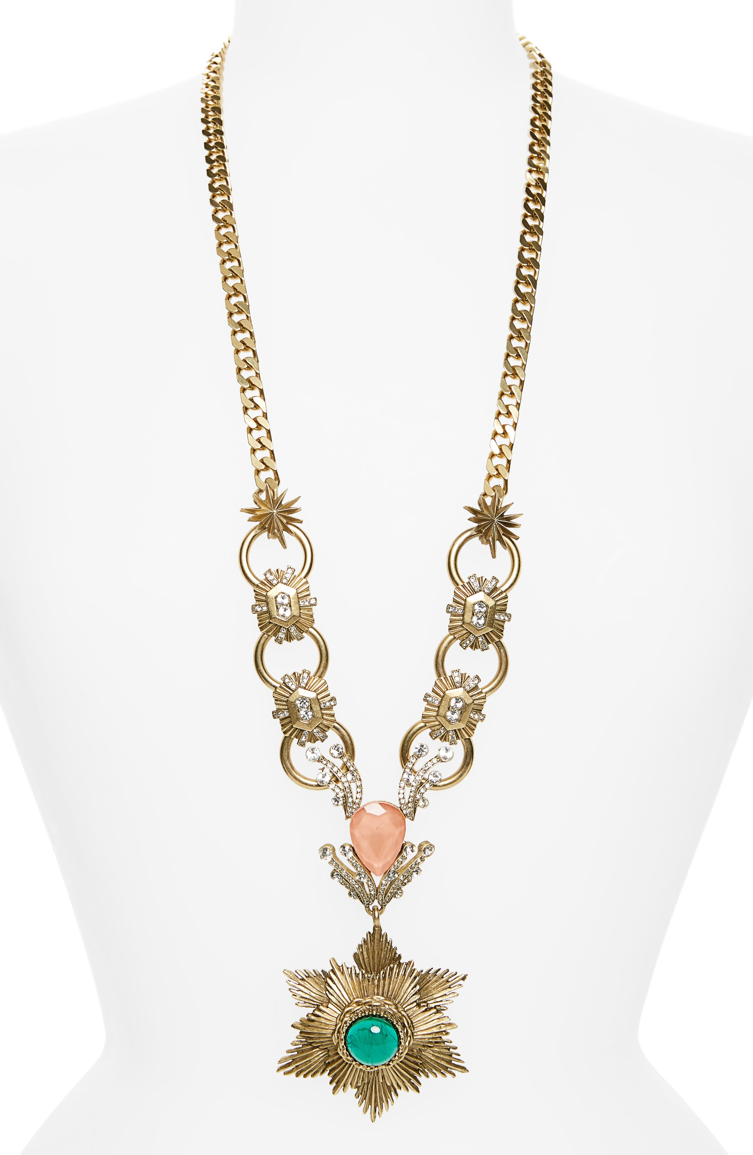 Alternate Image 1 Selected - Loren Hope Gloria Pendant Necklace