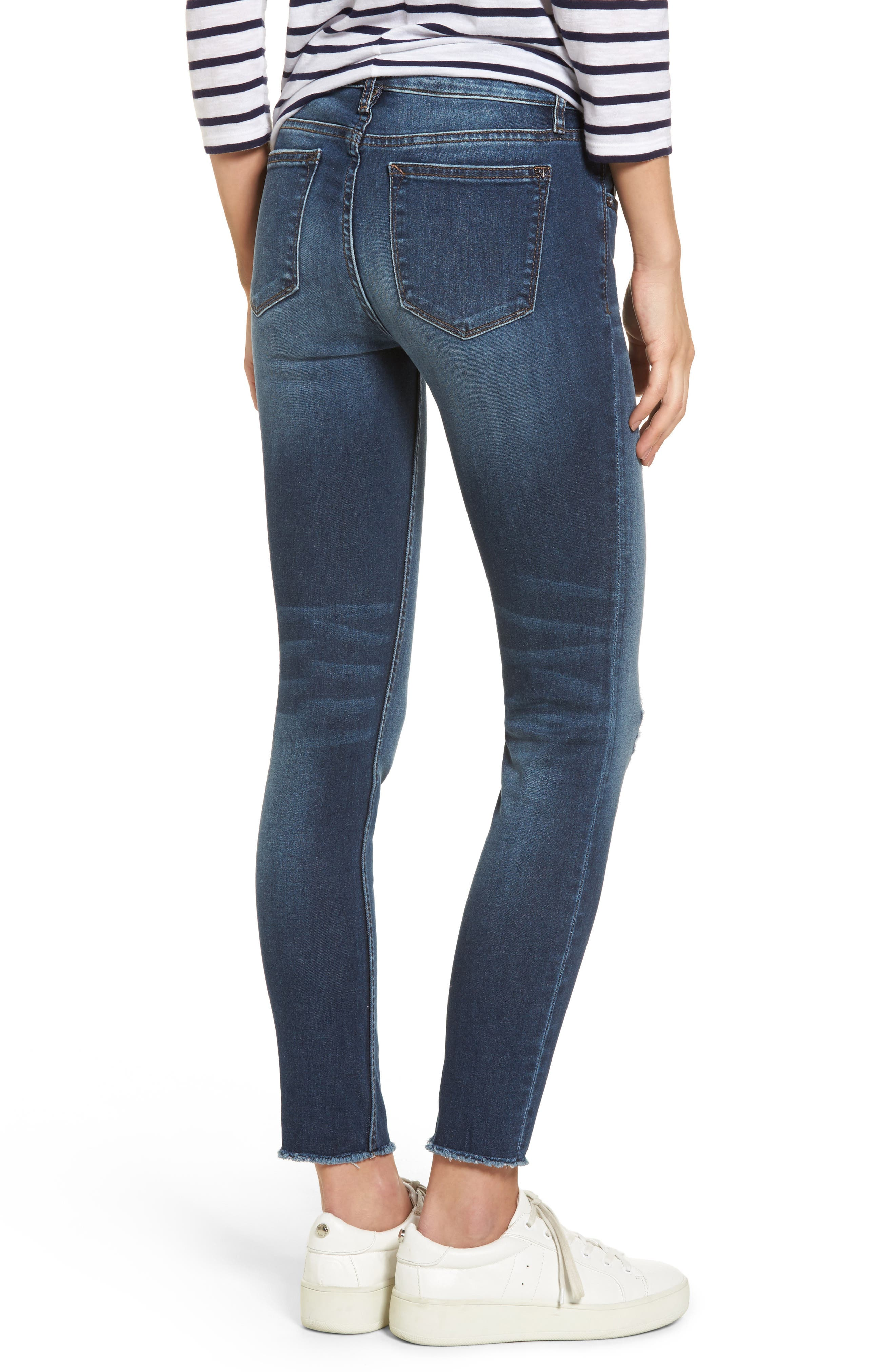 Alternate Image 2  - Vigoss Jagger Distressed Skinny Jeans