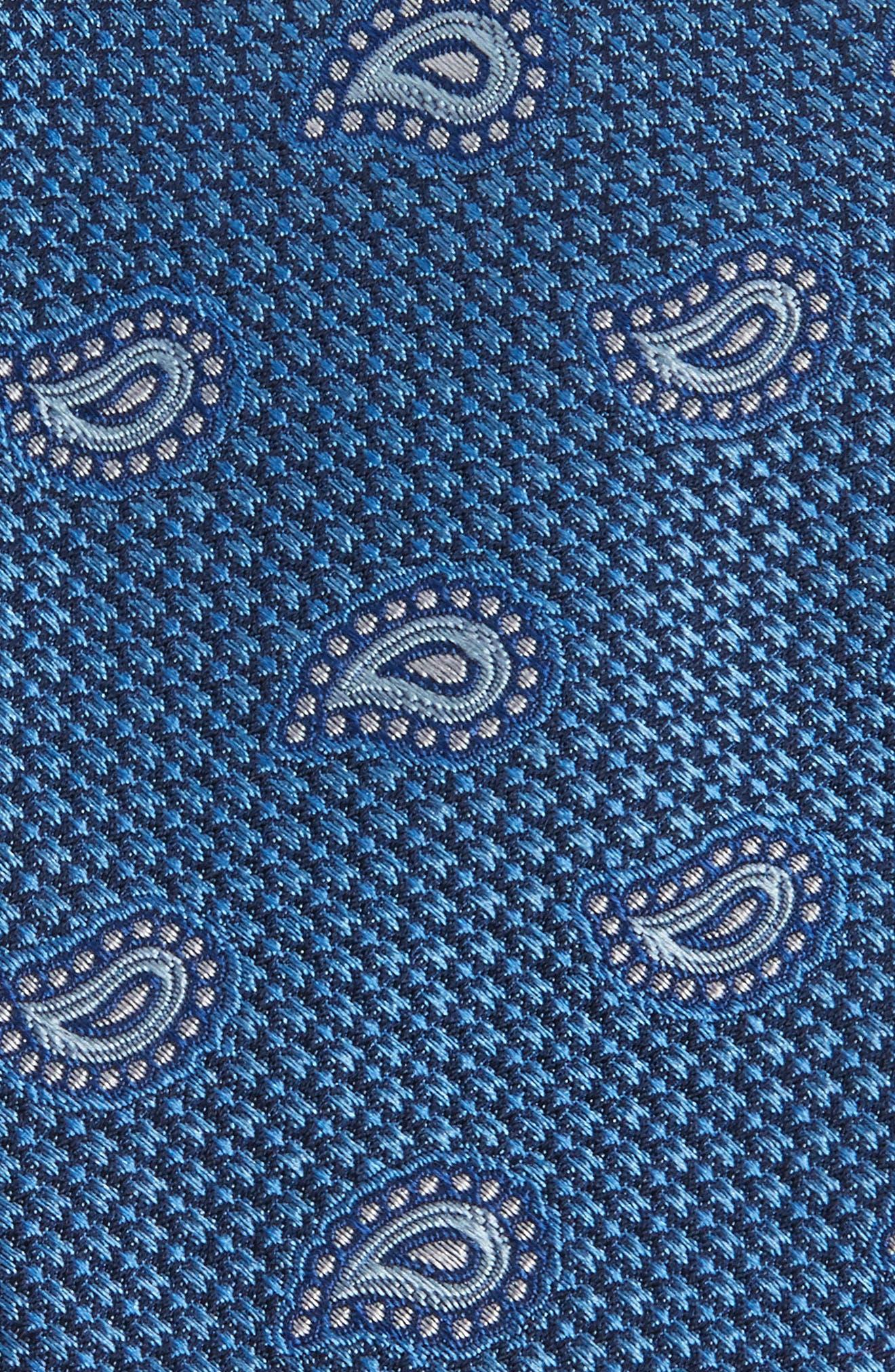 Alternate Image 2  - Nordstrom Men's Shop Textured Pines Silk Tie