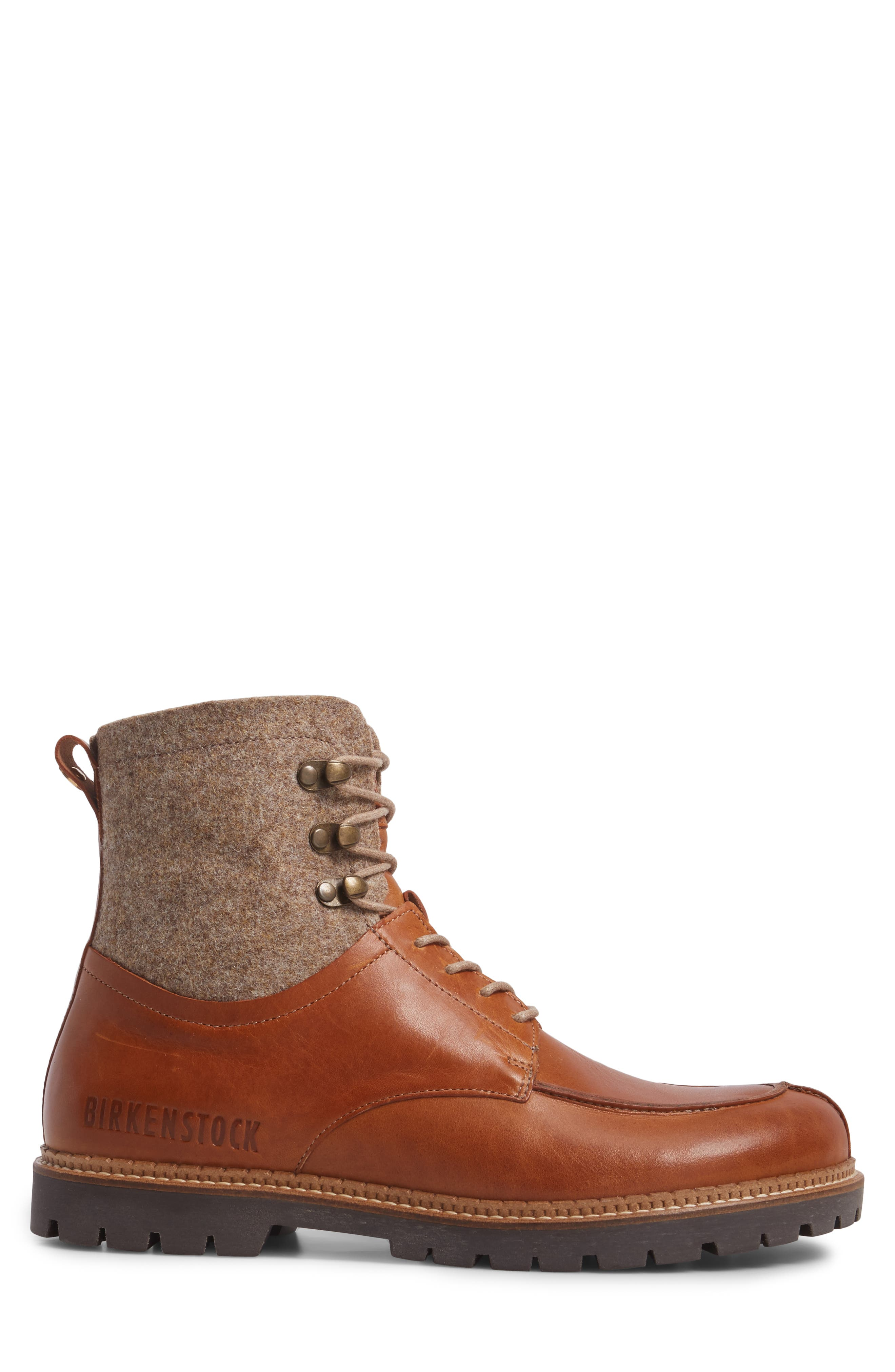 Timmins Split Toe Boot,                             Alternate thumbnail 2, color,                             Cuoio
