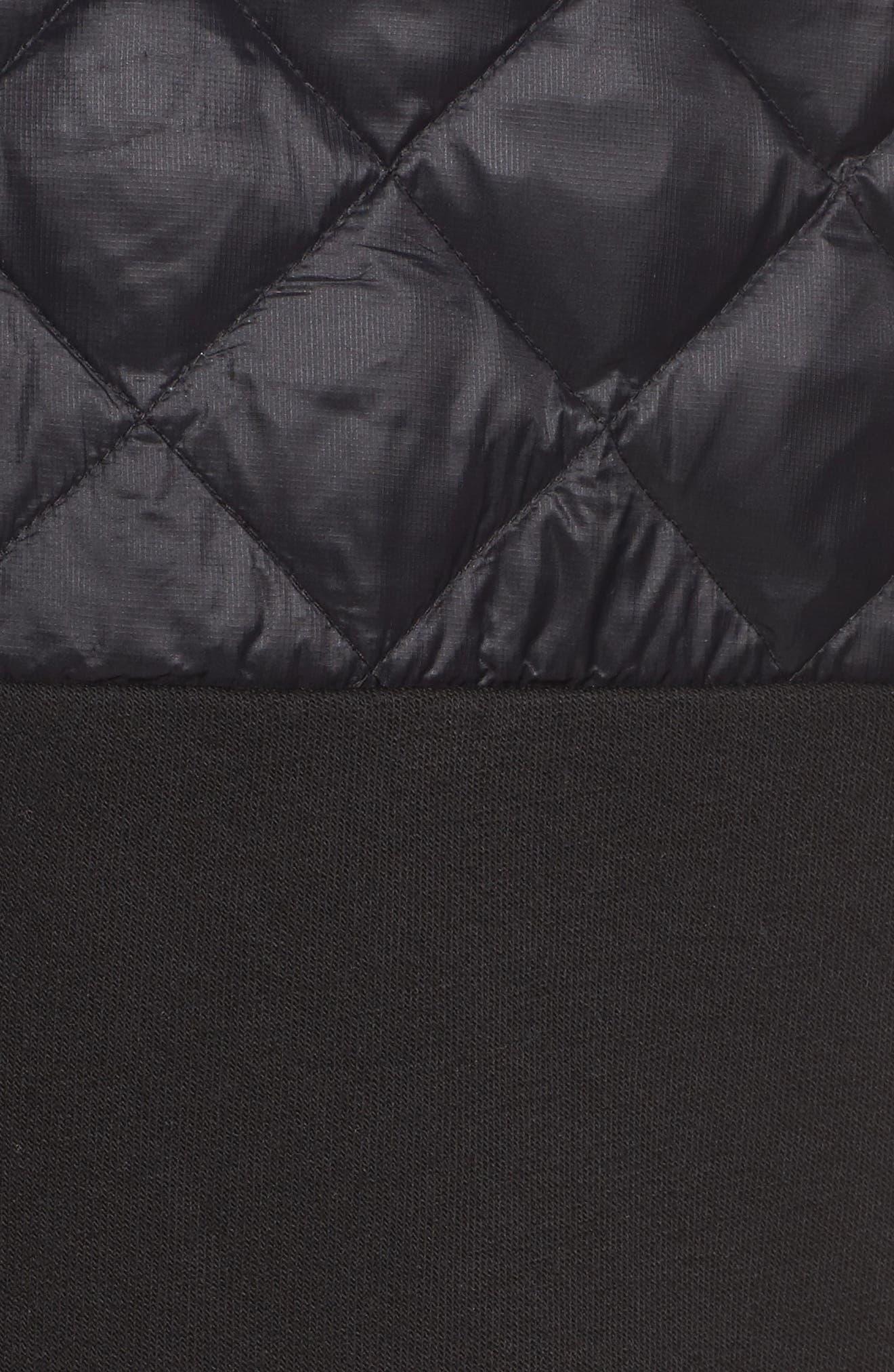 Great Escape Down Jacket,                             Alternate thumbnail 6, color,                             Black
