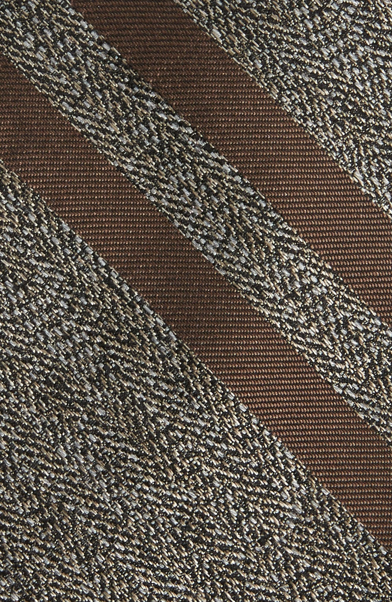Double Bar Panel Tie,                             Alternate thumbnail 2, color,                             Taupe