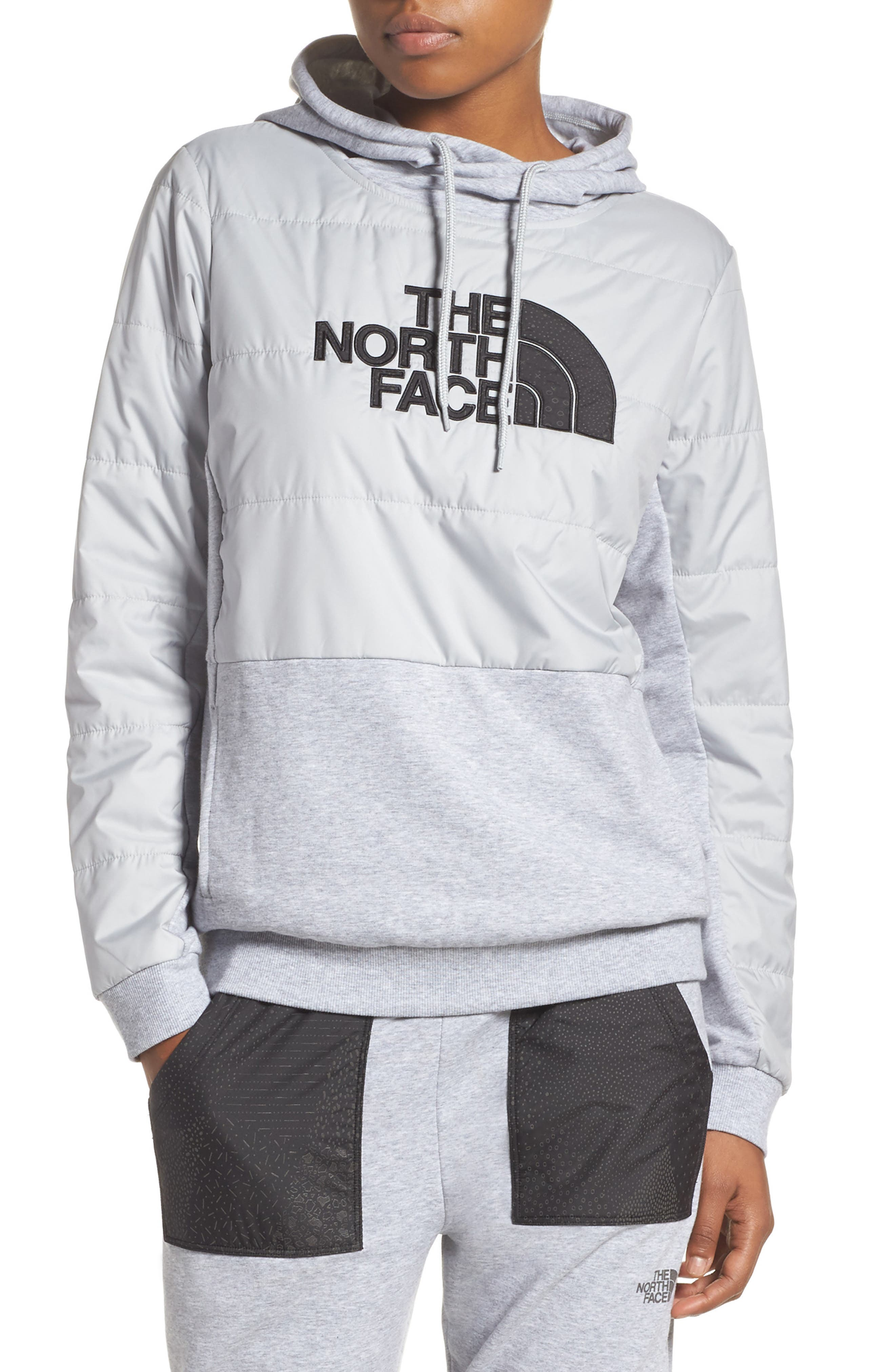 Alternate Image 1 Selected - The North Face Reflective Logo Hoodie