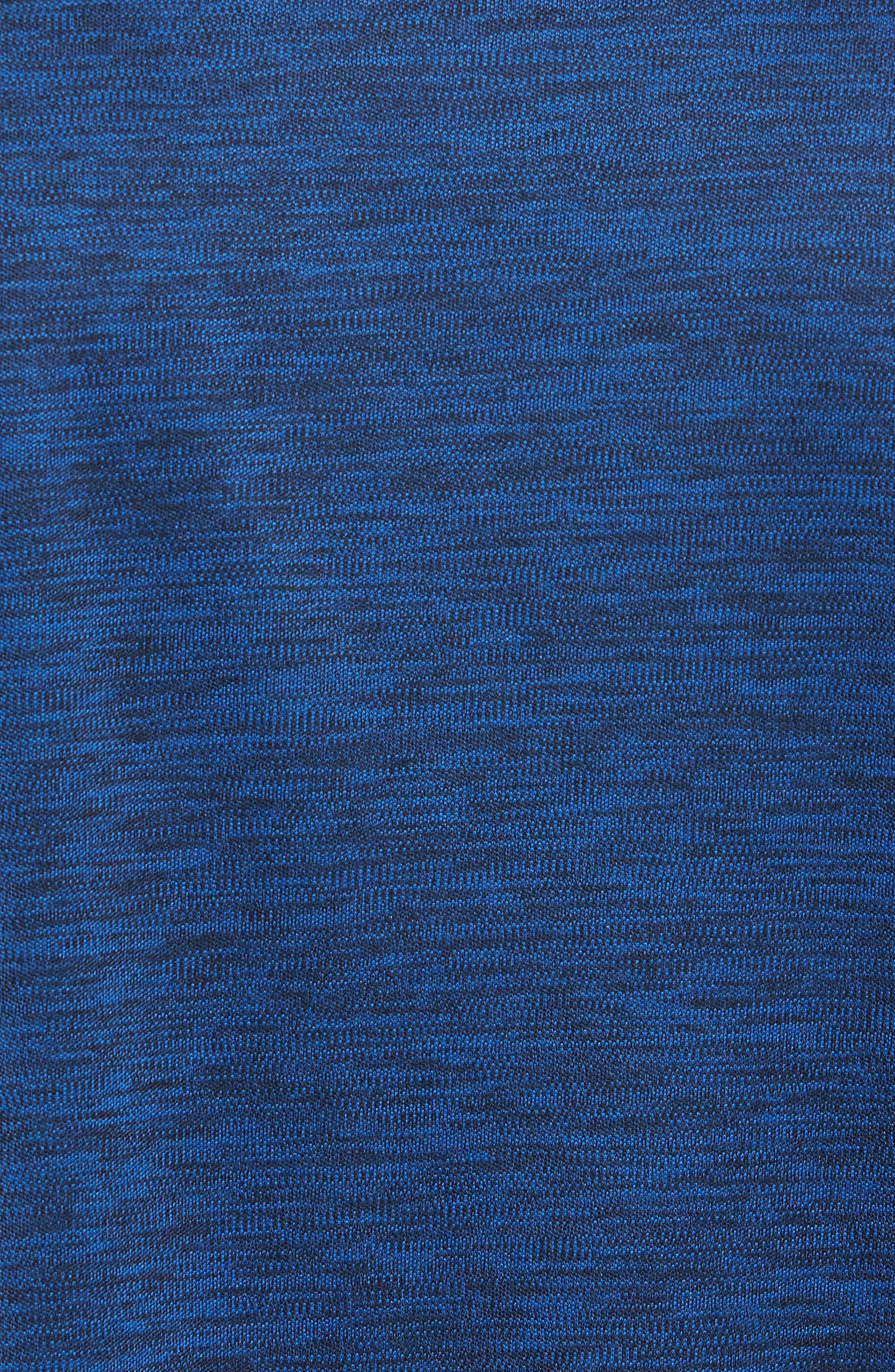 Triplite T-Shirt,                             Alternate thumbnail 5, color,                             Navy Malachite Melange