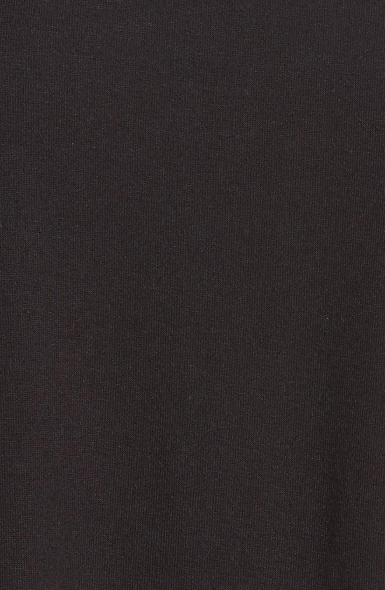 Alternate Image 5  - Zella Everly Mesh Stripe Tee