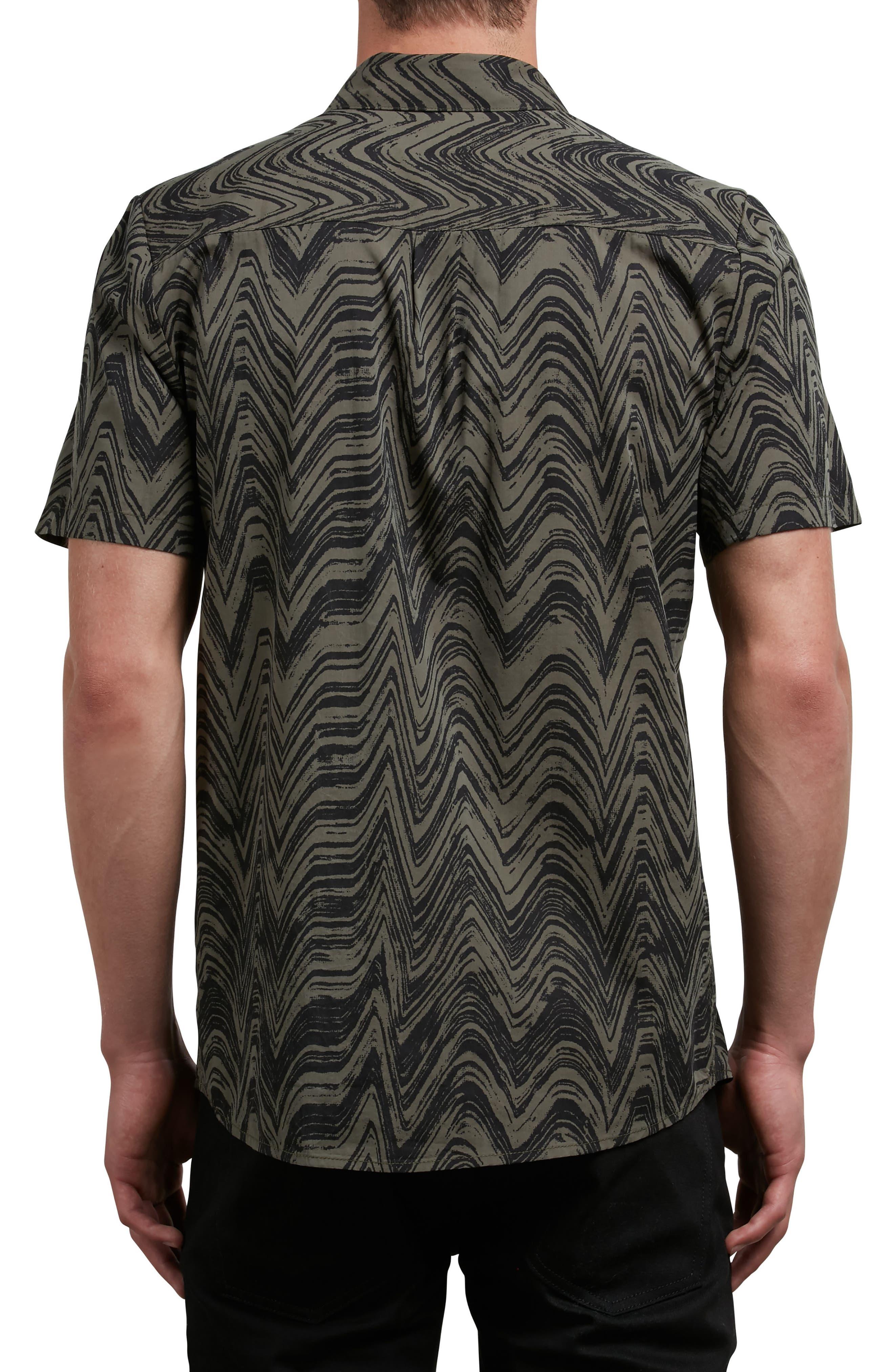 Lo-Fi Woven Shirt,                             Alternate thumbnail 2, color,                             Green