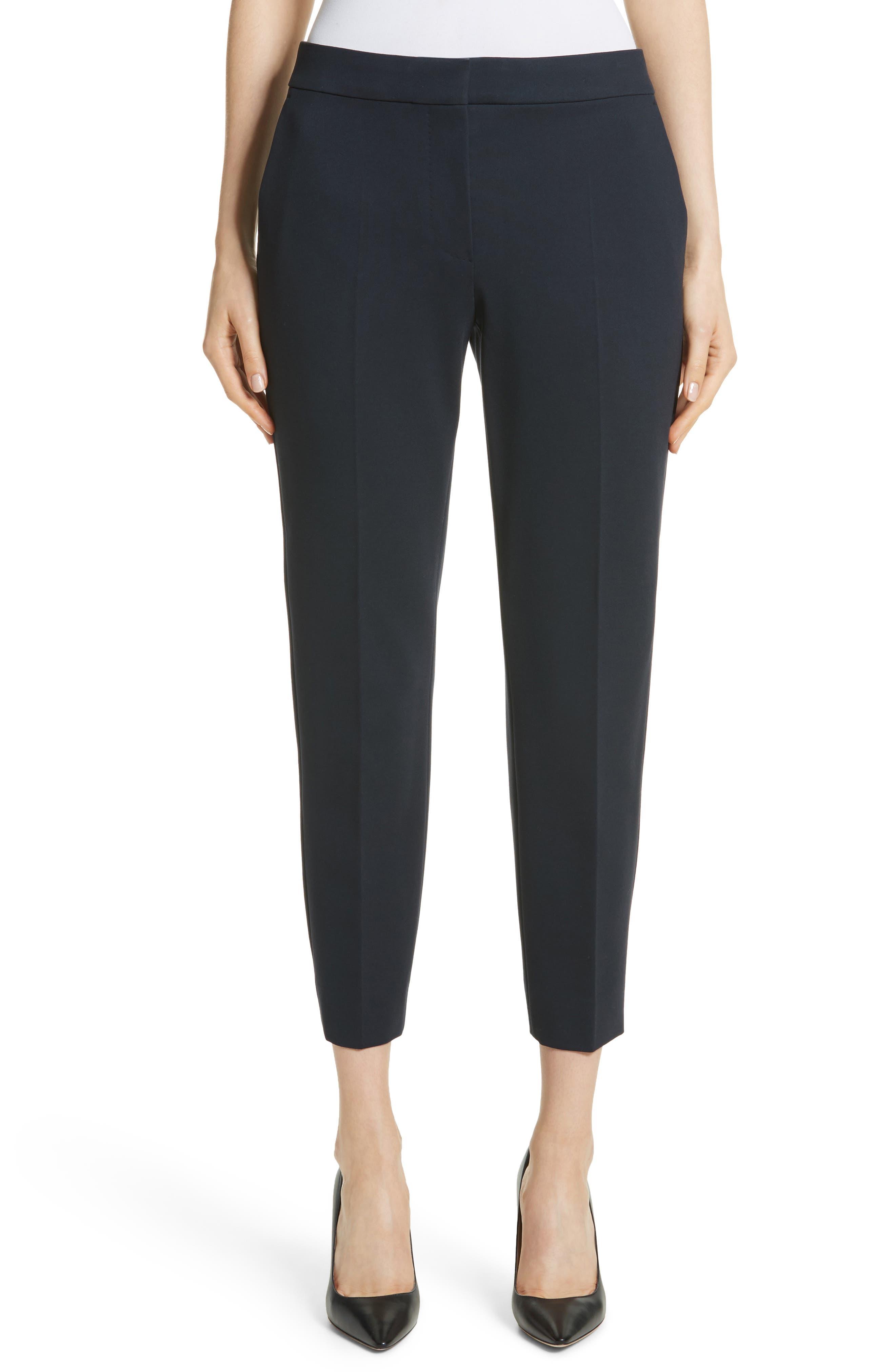 Main Image - Max Mara Pegno Jersey Crop Pants