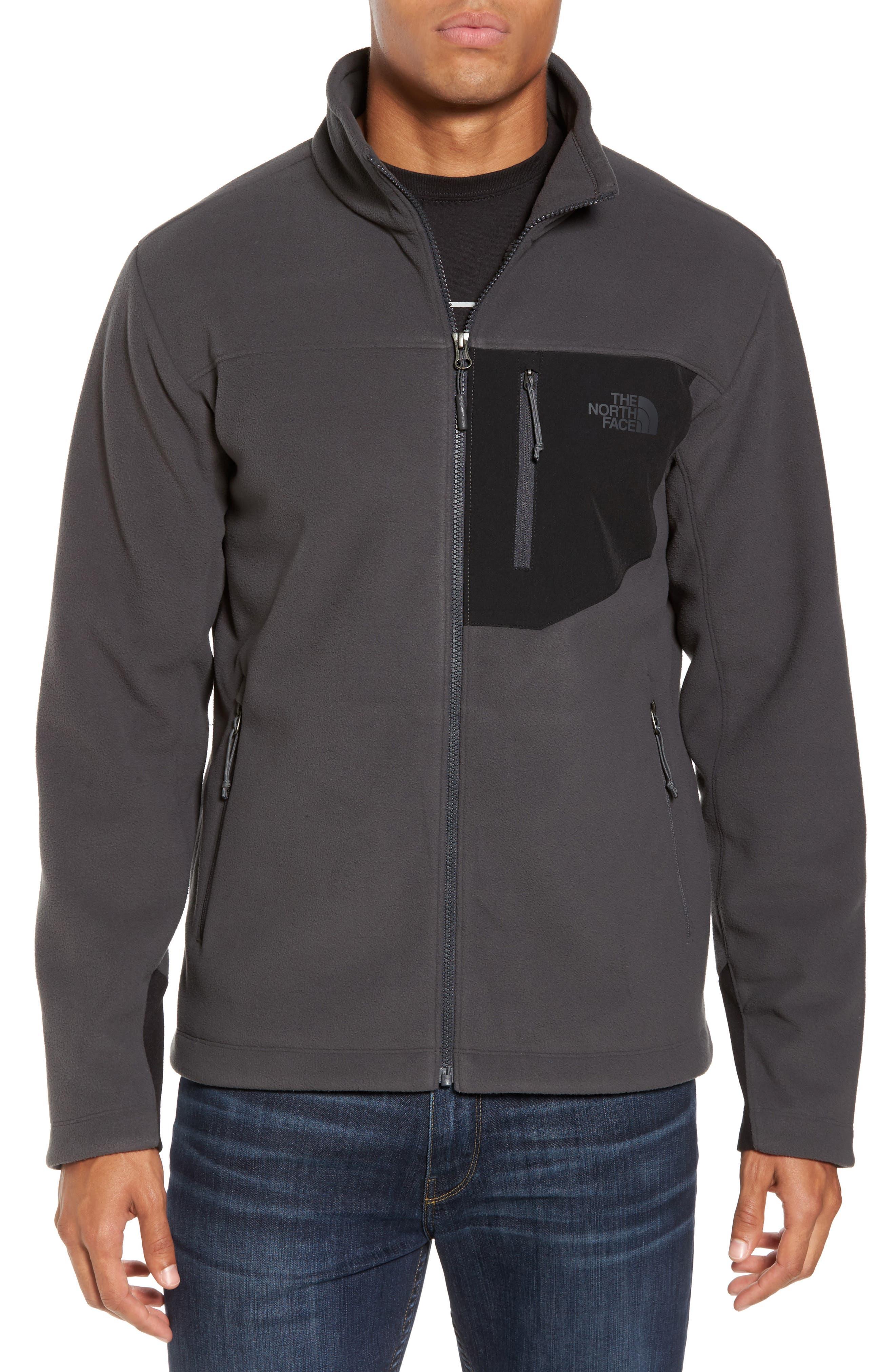 The North Face 'Chimborazo' Zip Front Fleece Jacket