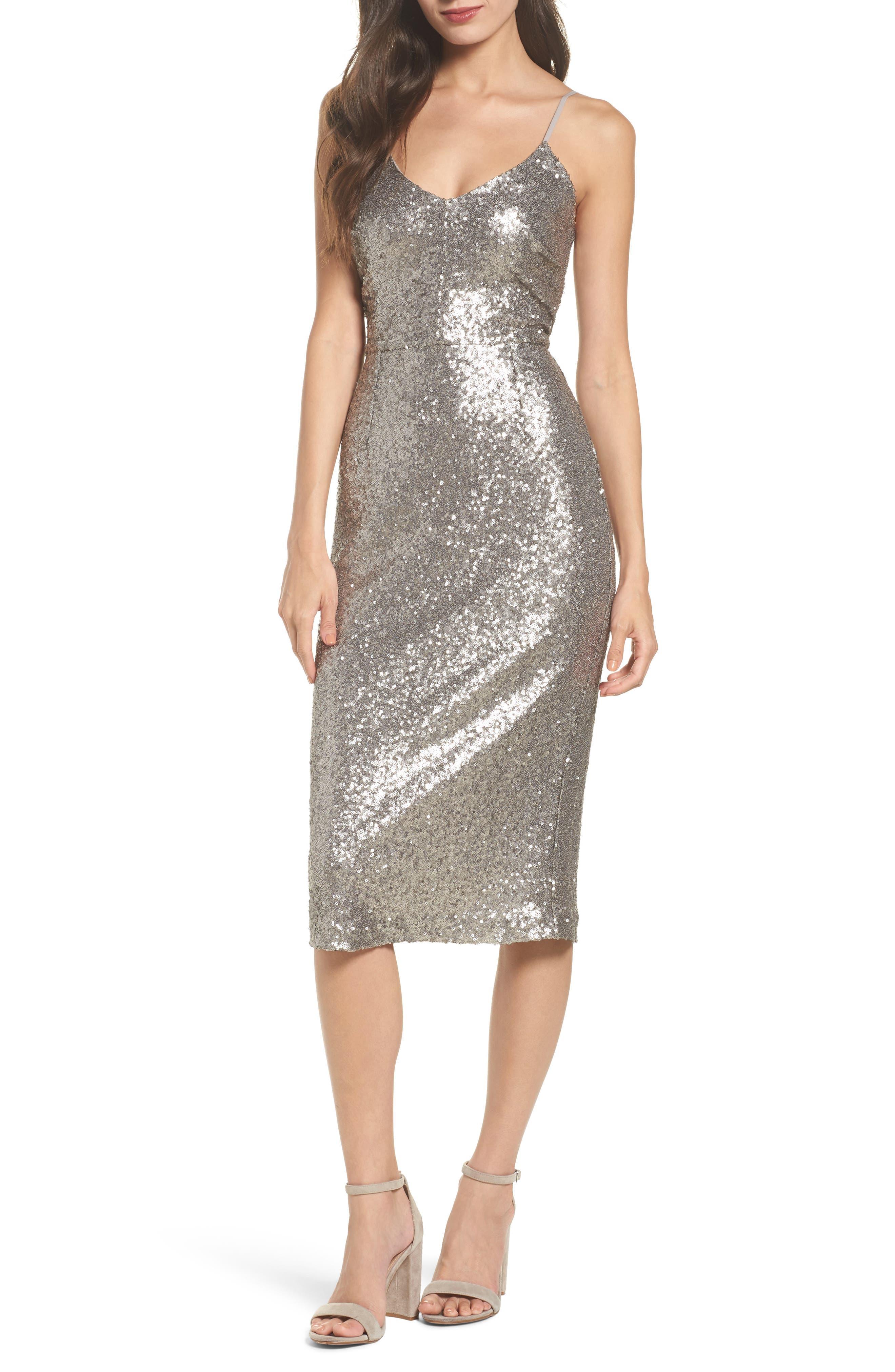 Main Image - Cooper St Midnight Lucky Sequin Dress
