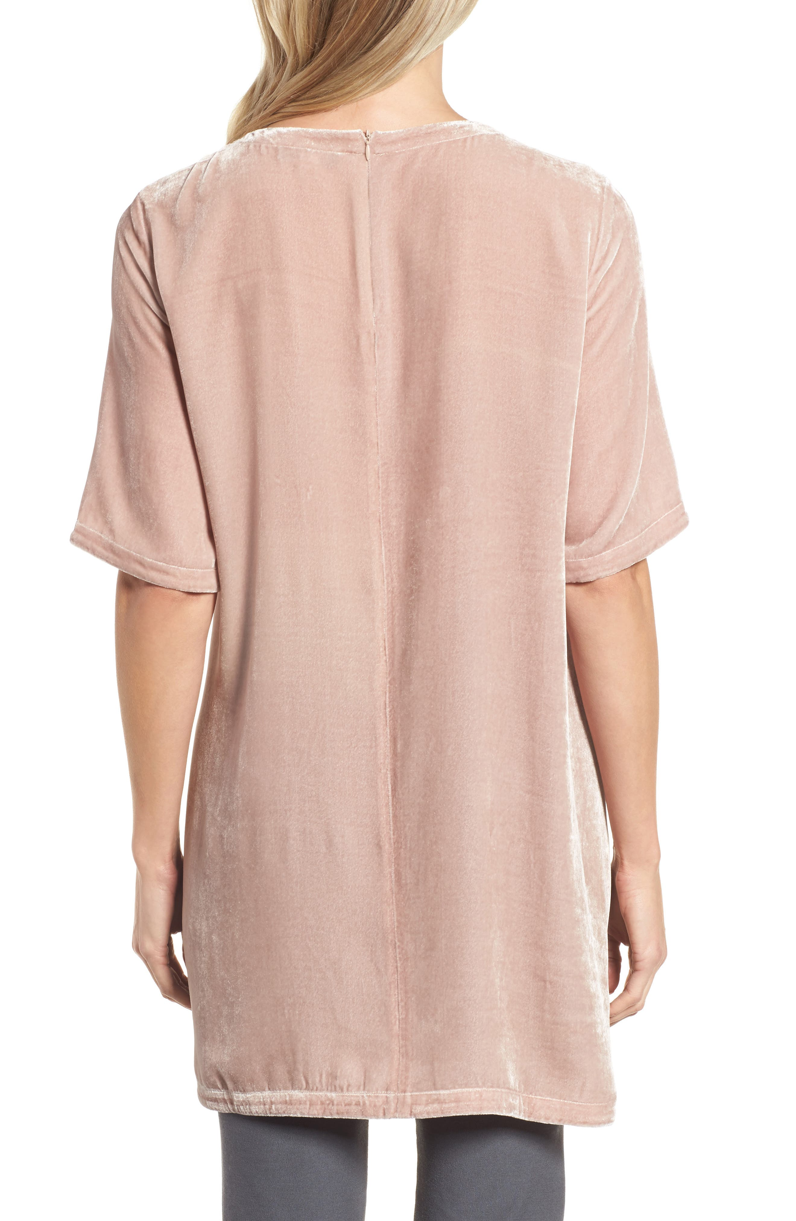 Alternate Image 2  - Eileen Fisher Velvet Tunic