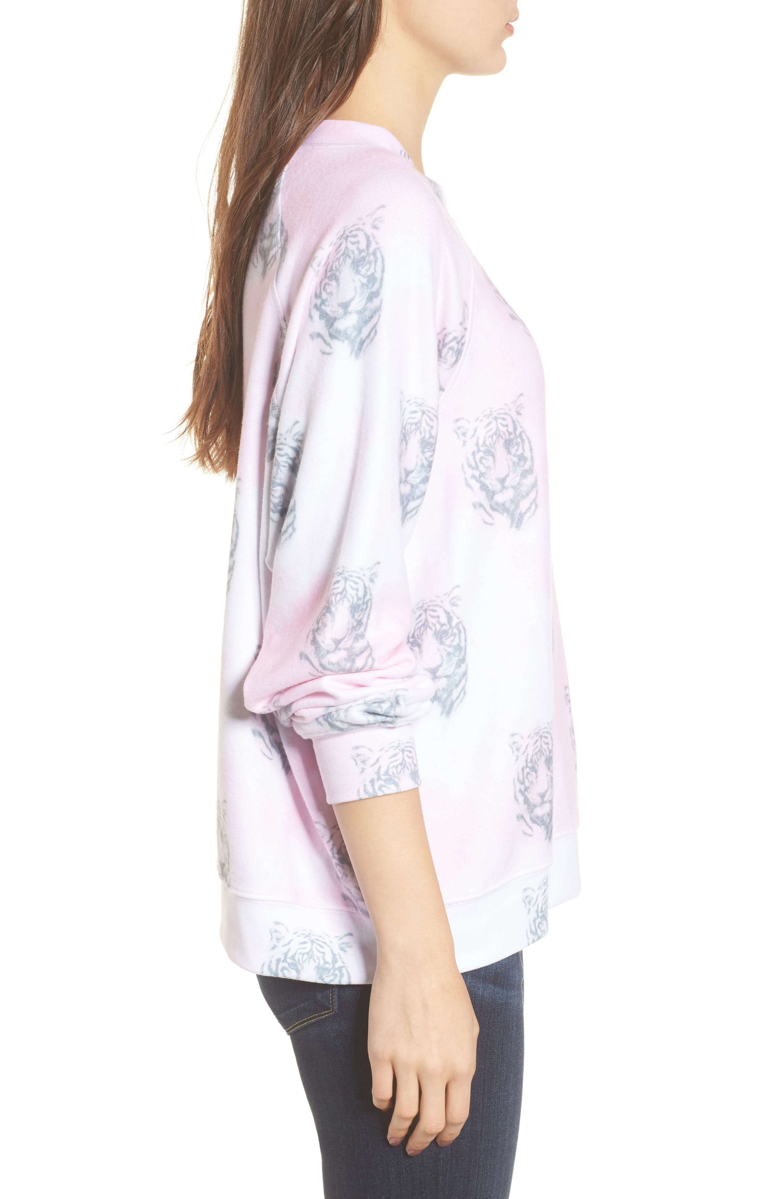 Bengals - Sommers Sweatshirt,                             Alternate thumbnail 3, color,                             Pink Flush