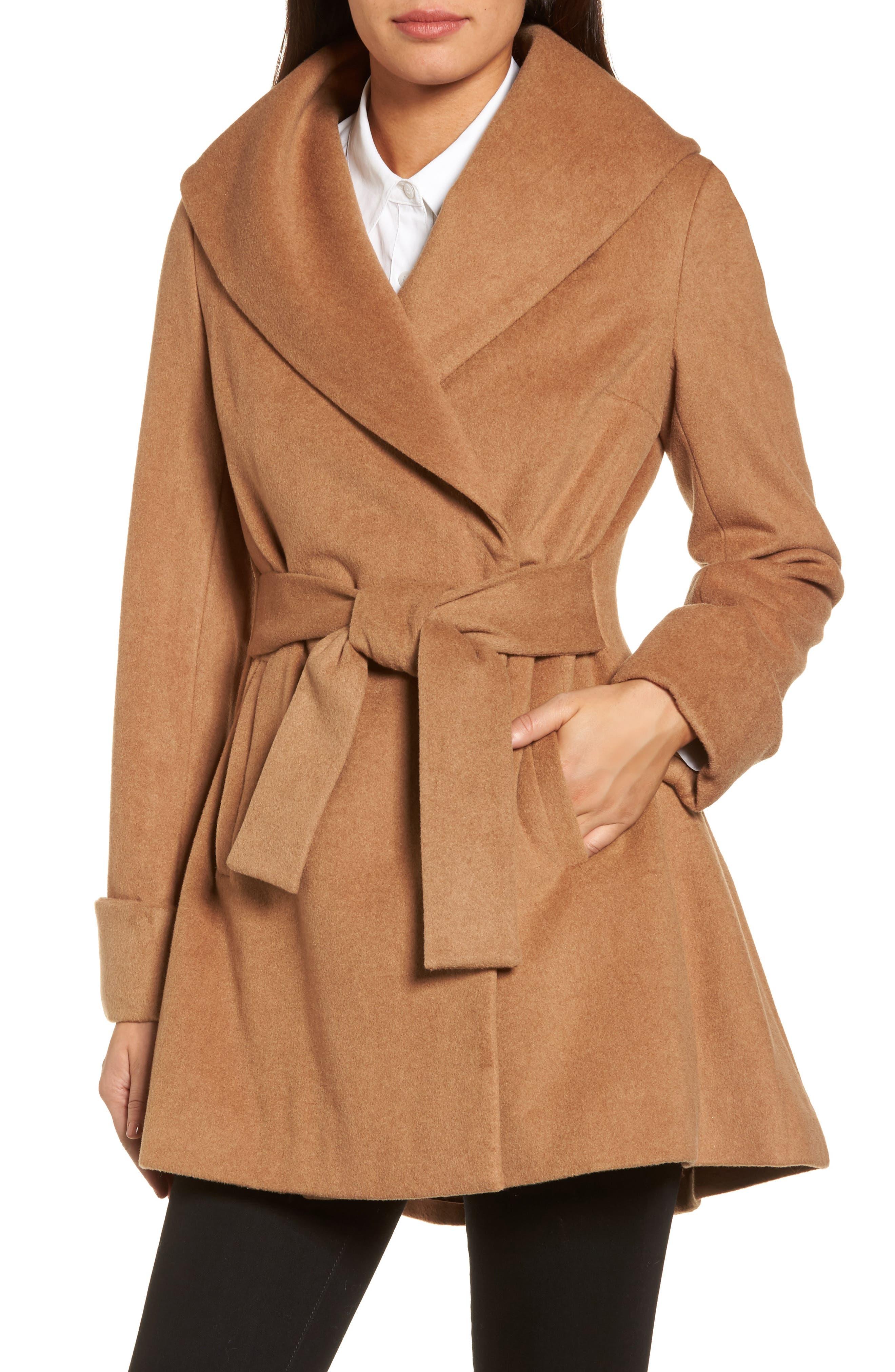 Trina Turk Ali Wrap Coat