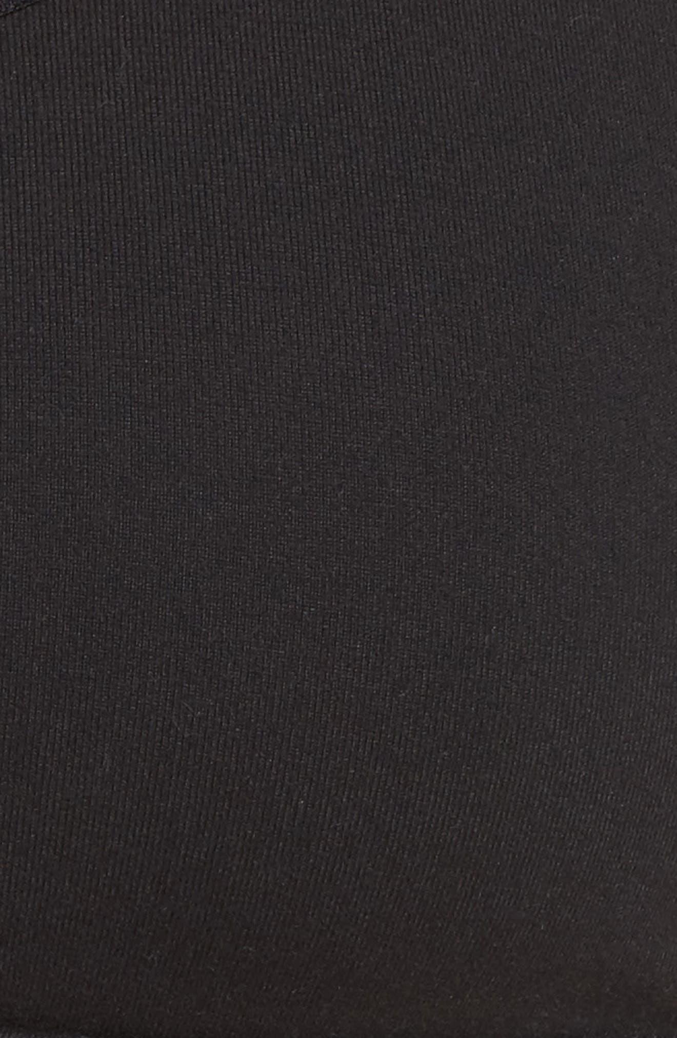 Levitate Sports Bra,                             Alternate thumbnail 6, color,                             Jet Black