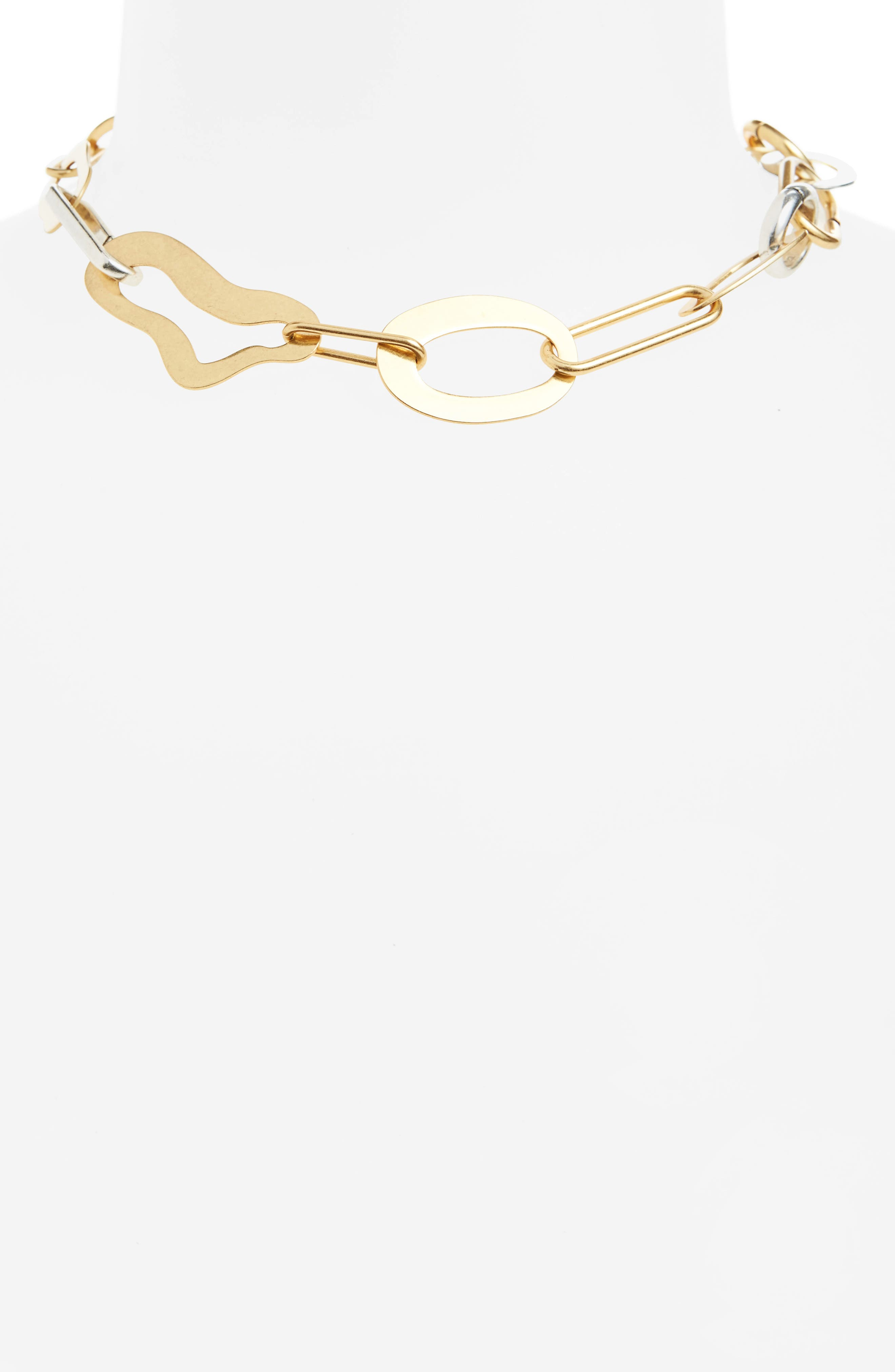 Alternate Image 2  - Madewell Abstract Link Necklace
