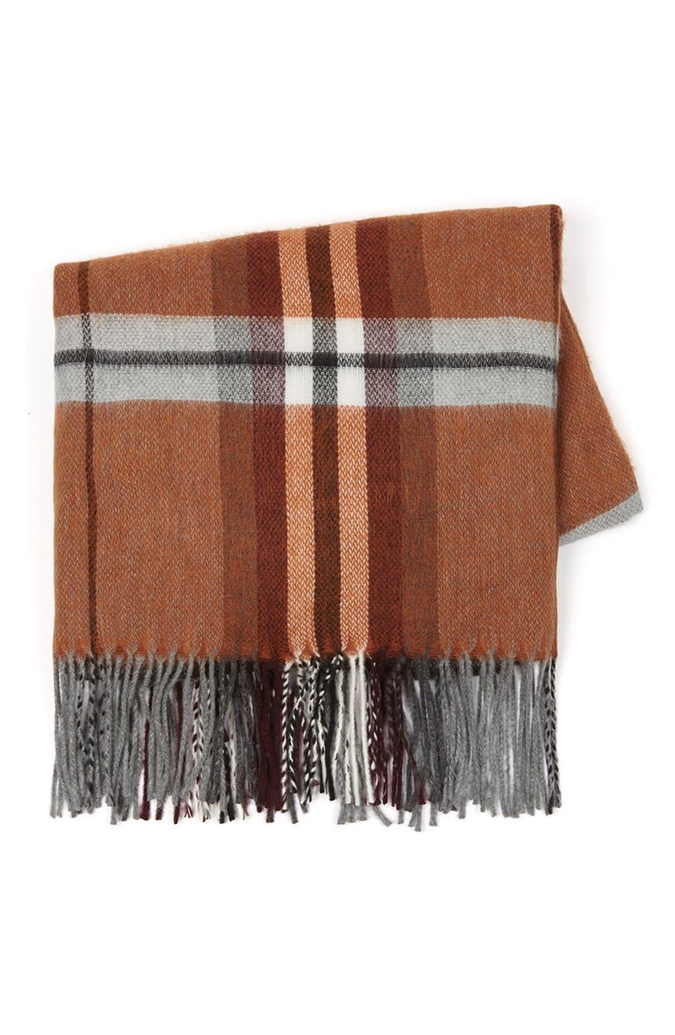 Alternate Image 5  - Topman Plaid Blanket Scarf