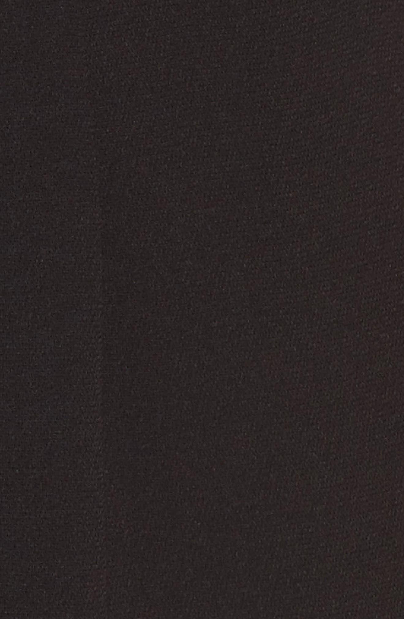 Lace Bodice Jumpsuit,                             Alternate thumbnail 5, color,                             Black/ Mocha