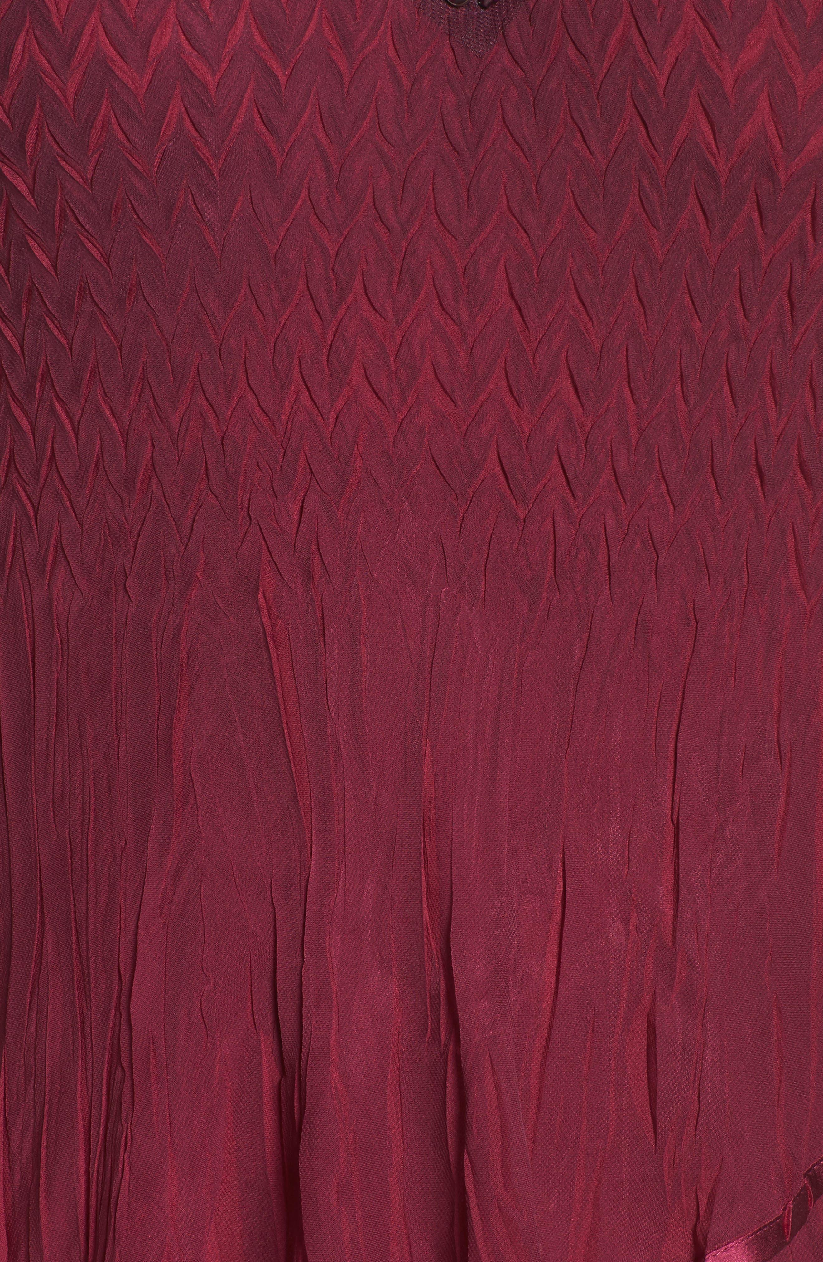 Alternate Image 5  - Komarov Tiered Ombré Charmeuse & Chiffon Dress