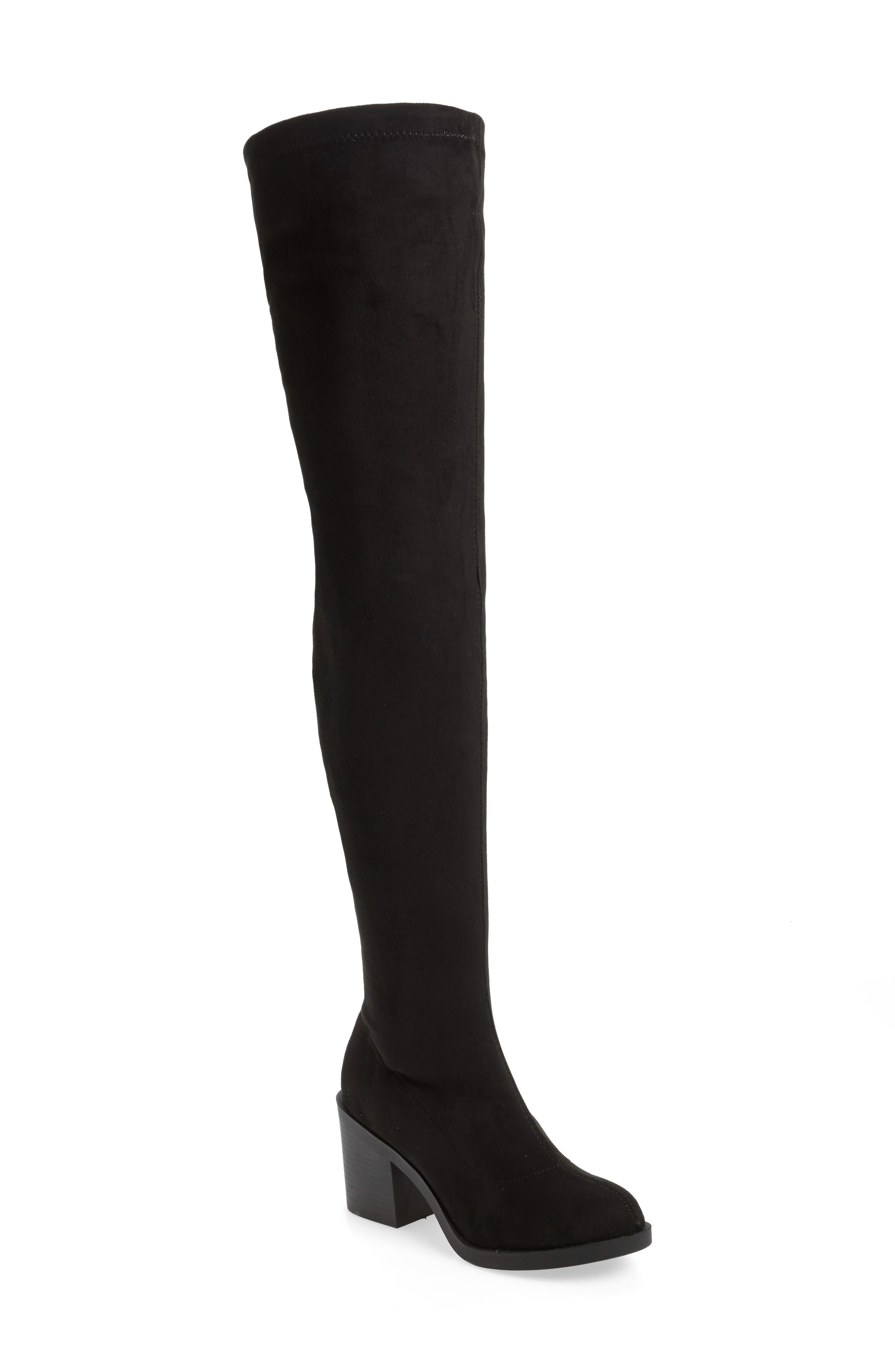 Topshop Casper Thigh High Boot (Women)