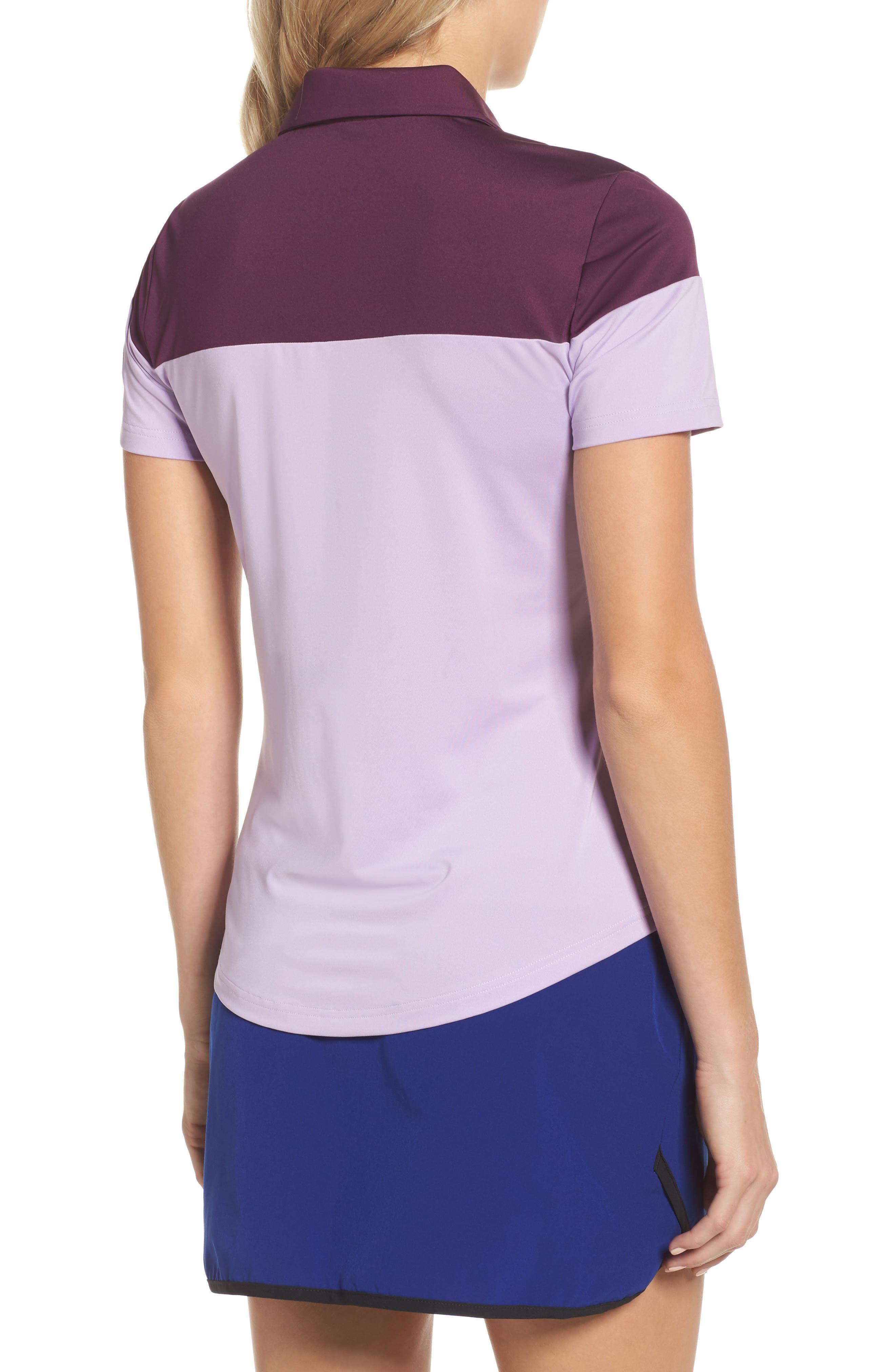 Alternate Image 2  - adidas Colorblock Polo