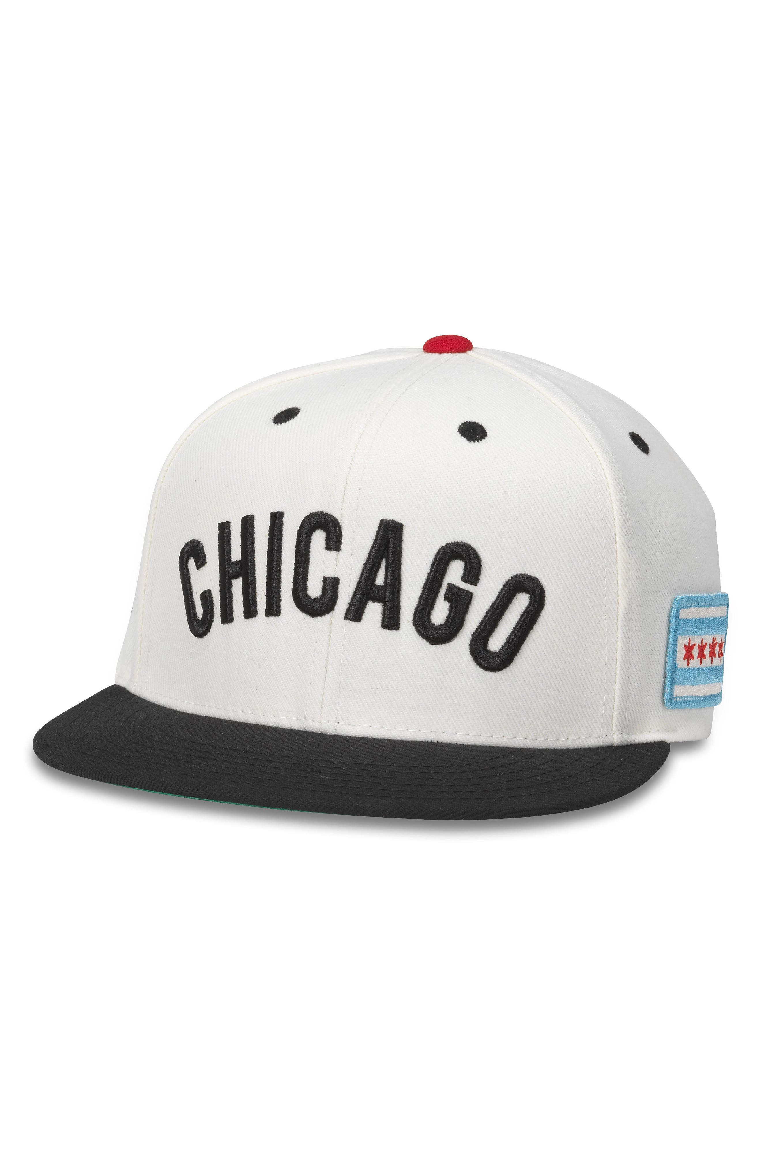 American Needle United NHL Flat Brim Cap