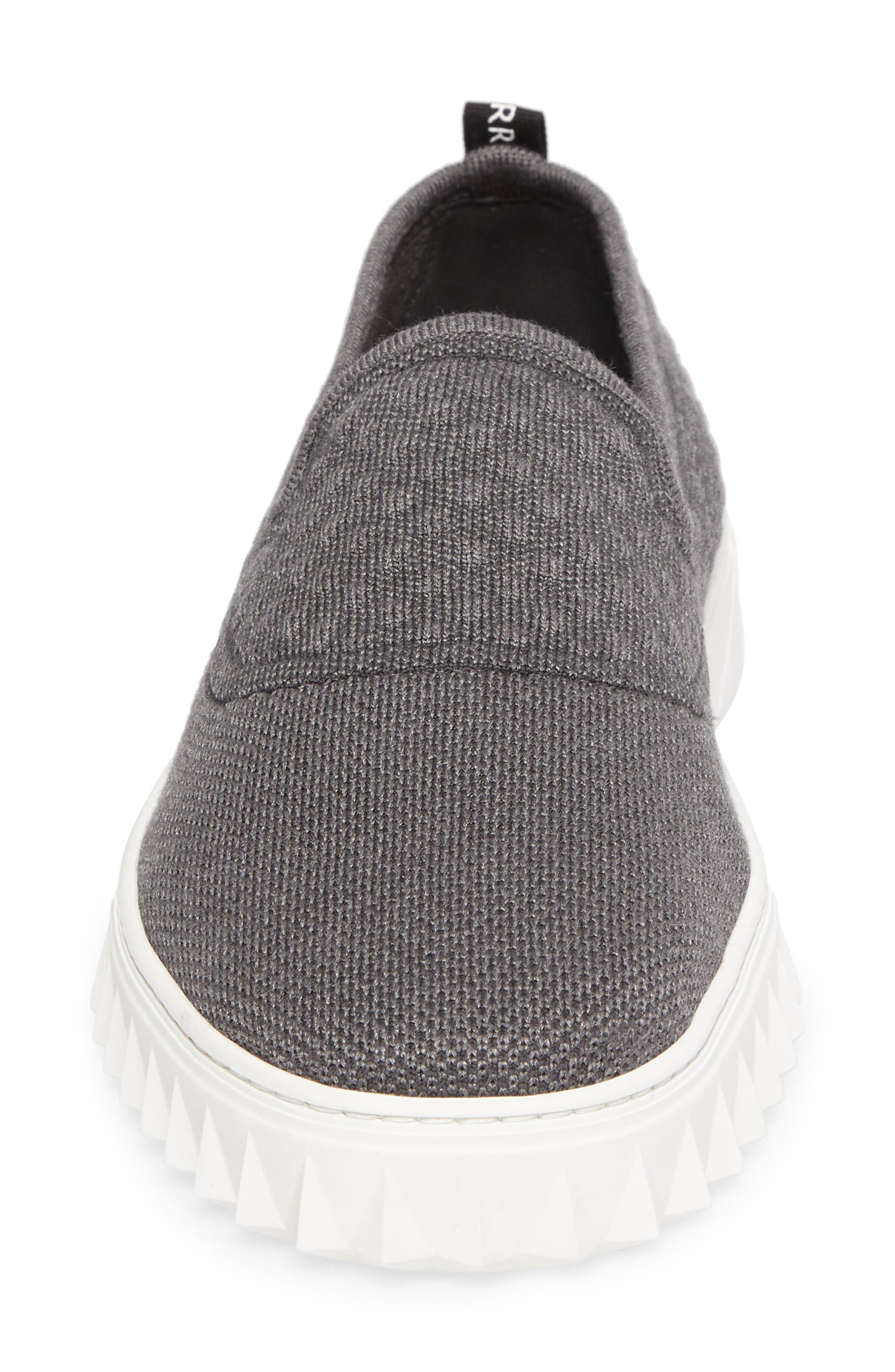 Clay Slip-On Sneaker,                             Alternate thumbnail 4, color,                             Charcoal