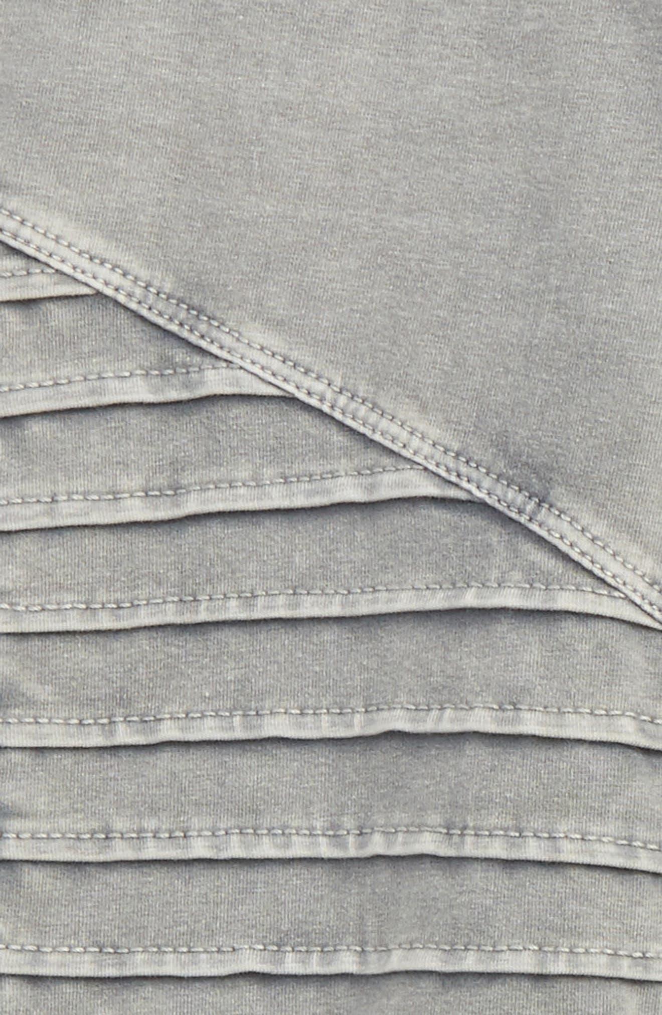 Alternate Image 2  - Tucker + Tate High Waist Moto Pants (Big Girls)