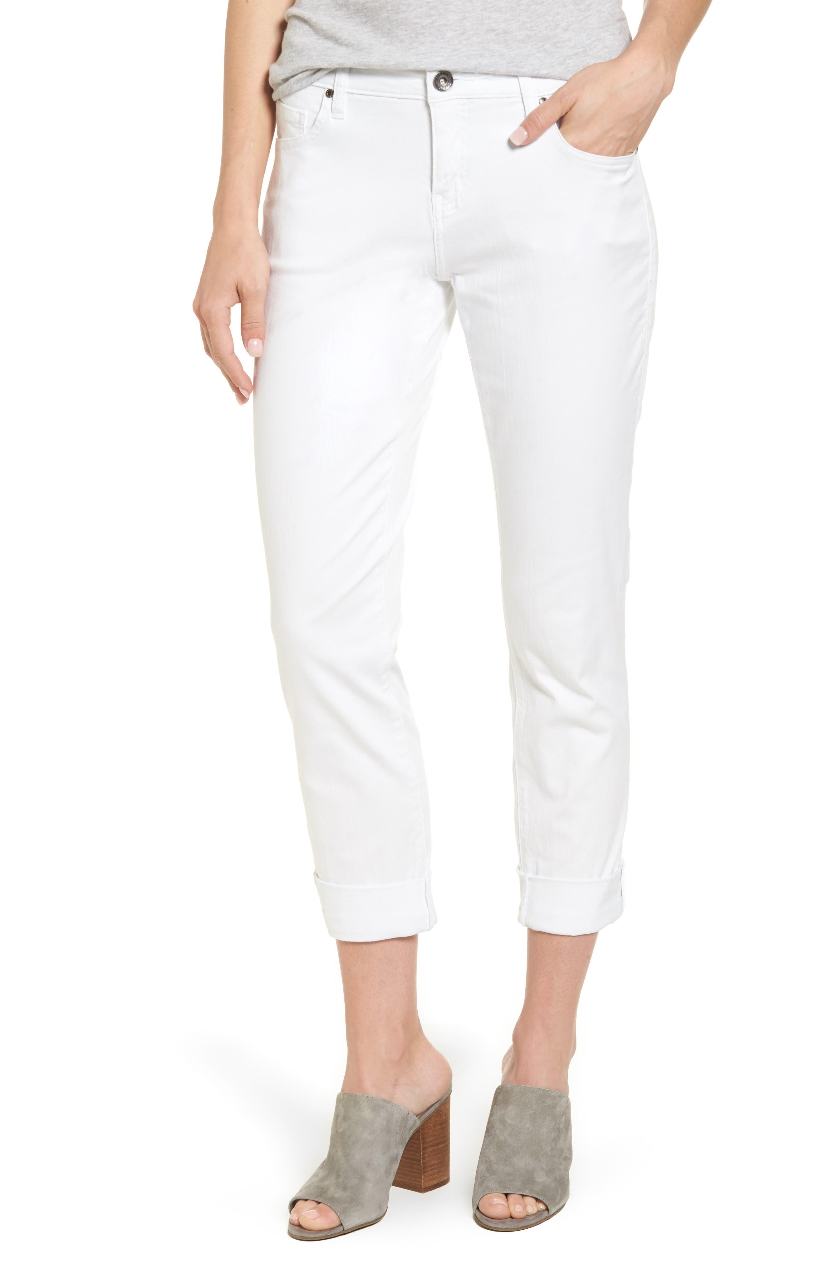 Jag Jeans Carter Knit Denim Girlfriend Jeans