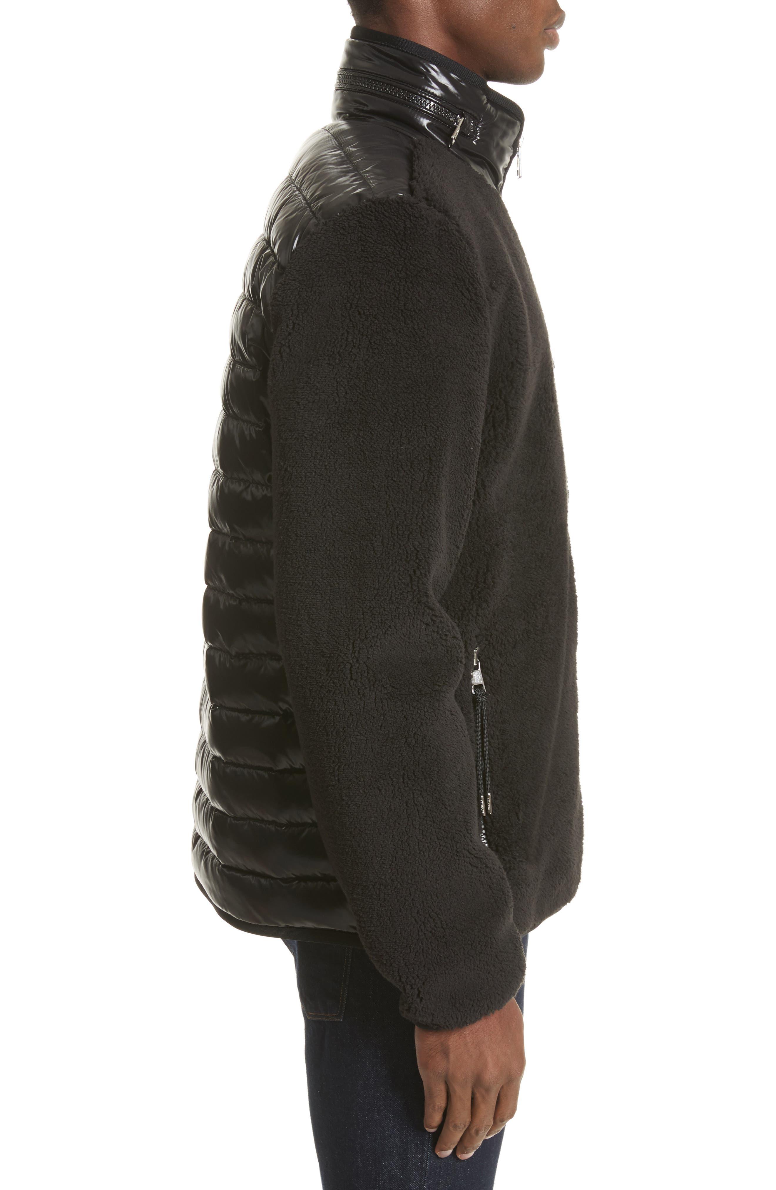 Alternate Image 3  - Moncler Polar Fleece Zip Jacket