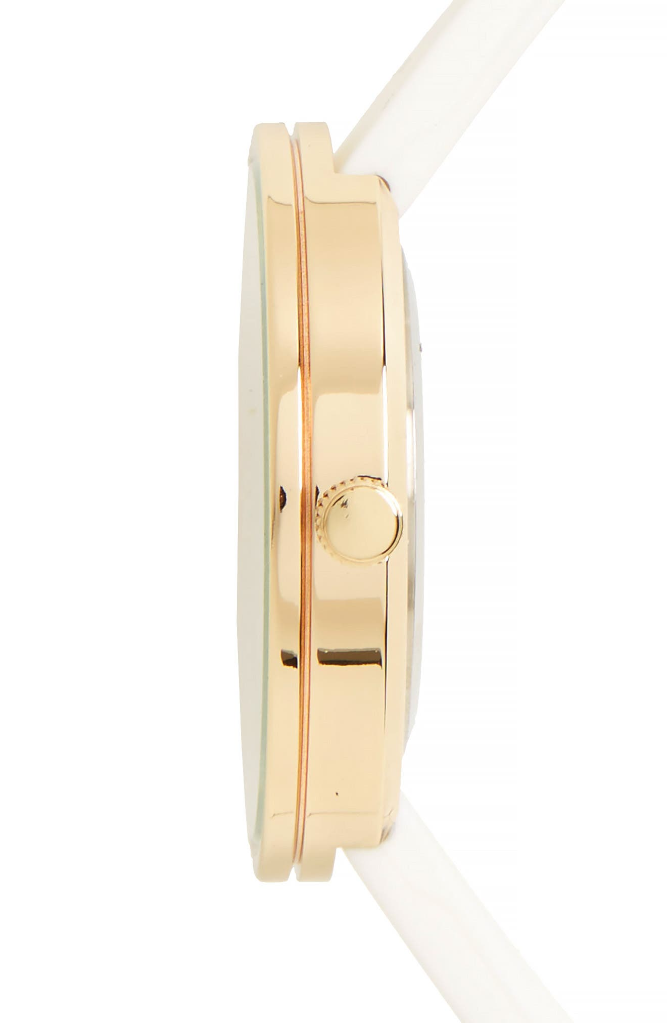 Alternate Image 3  - Topshop Marble Dial Watch