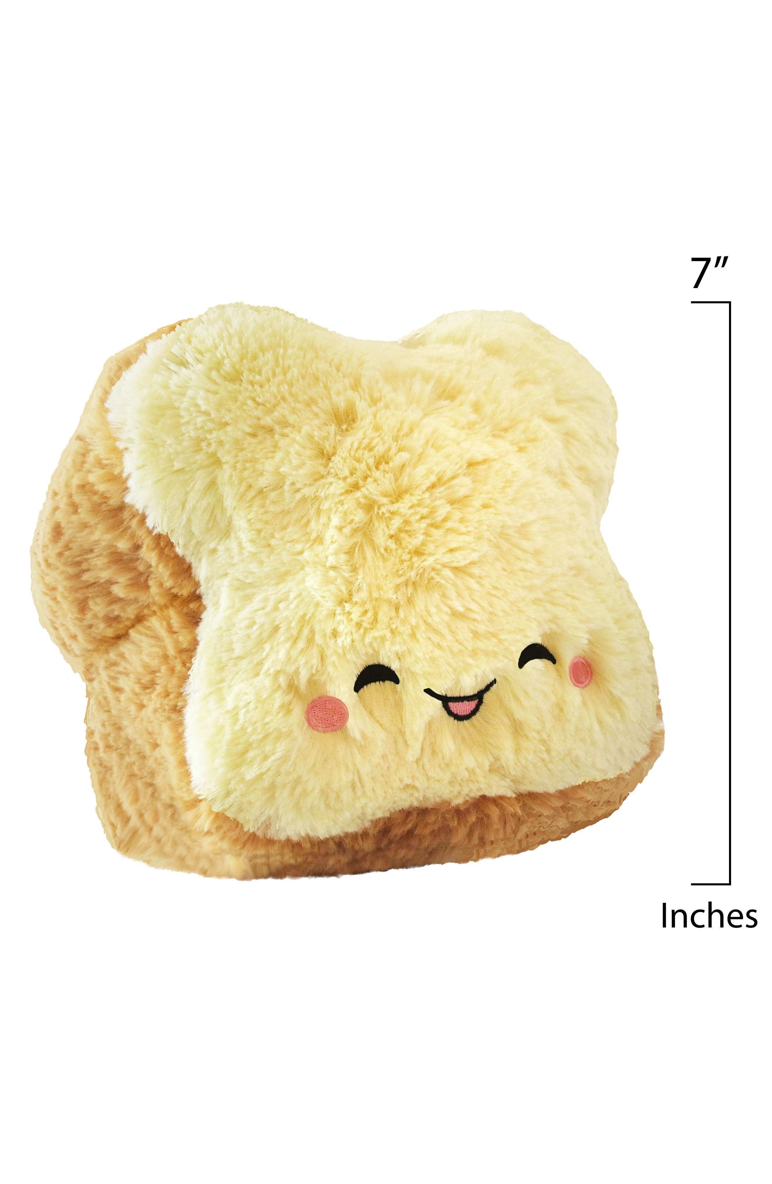Alternate Image 2  - Squishable Mini Loaf of Bread Stuffed Toy
