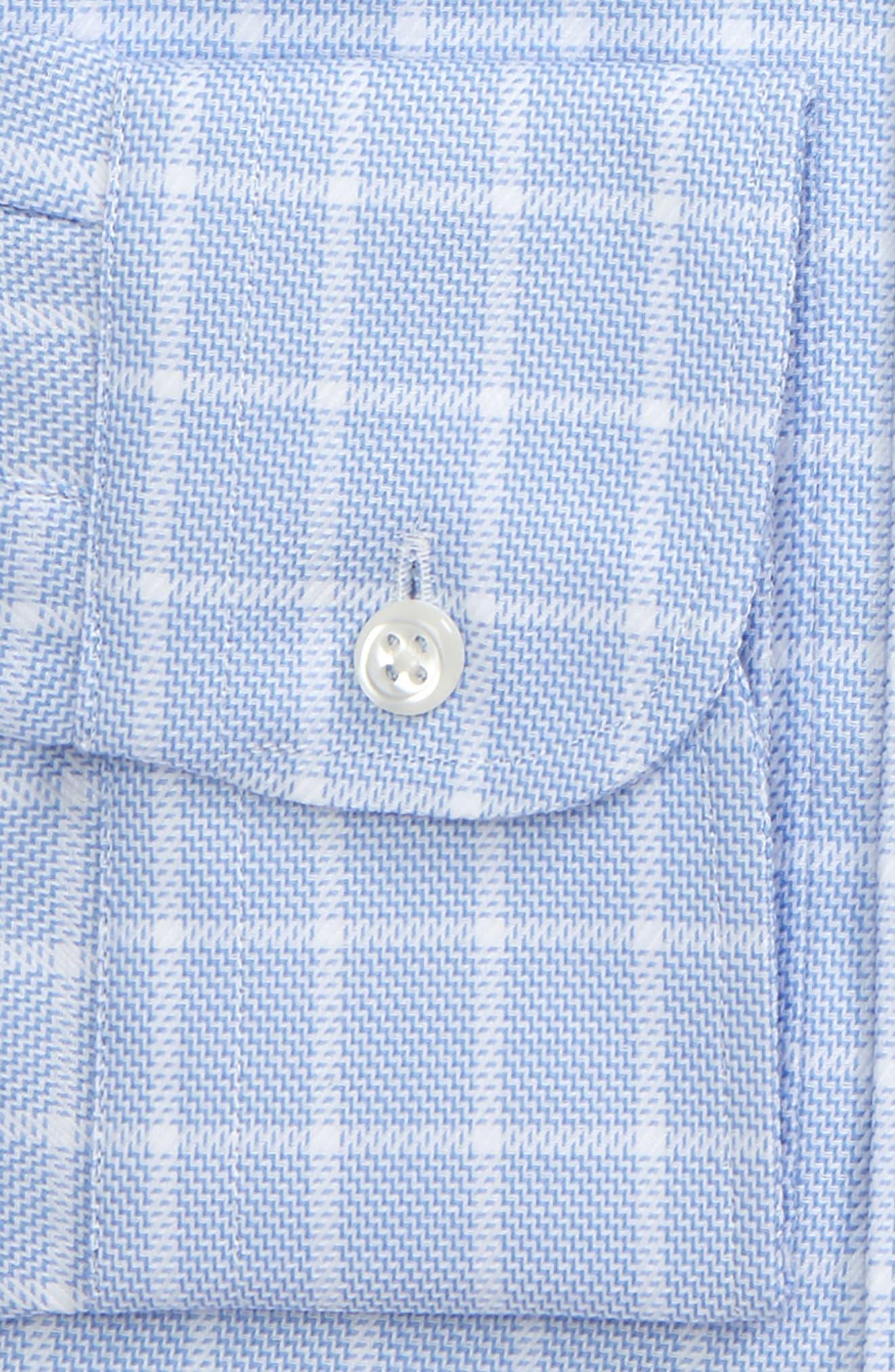 Alternate Image 4  - Nordstrom Men's Shop Classic Fit No-Iron Check Dress Shirt