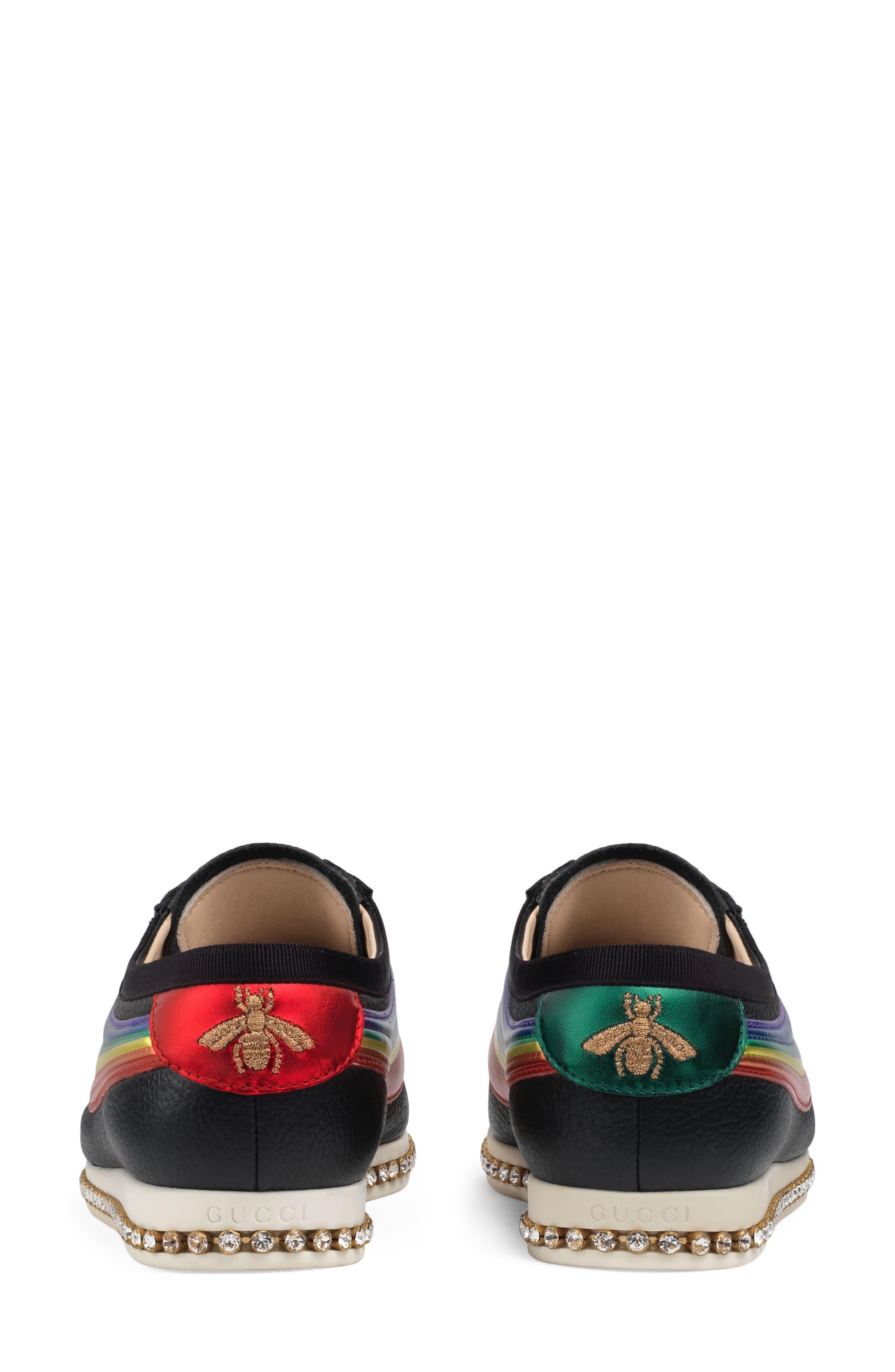 Falacer Sneaker,                             Alternate thumbnail 4, color,                             Black