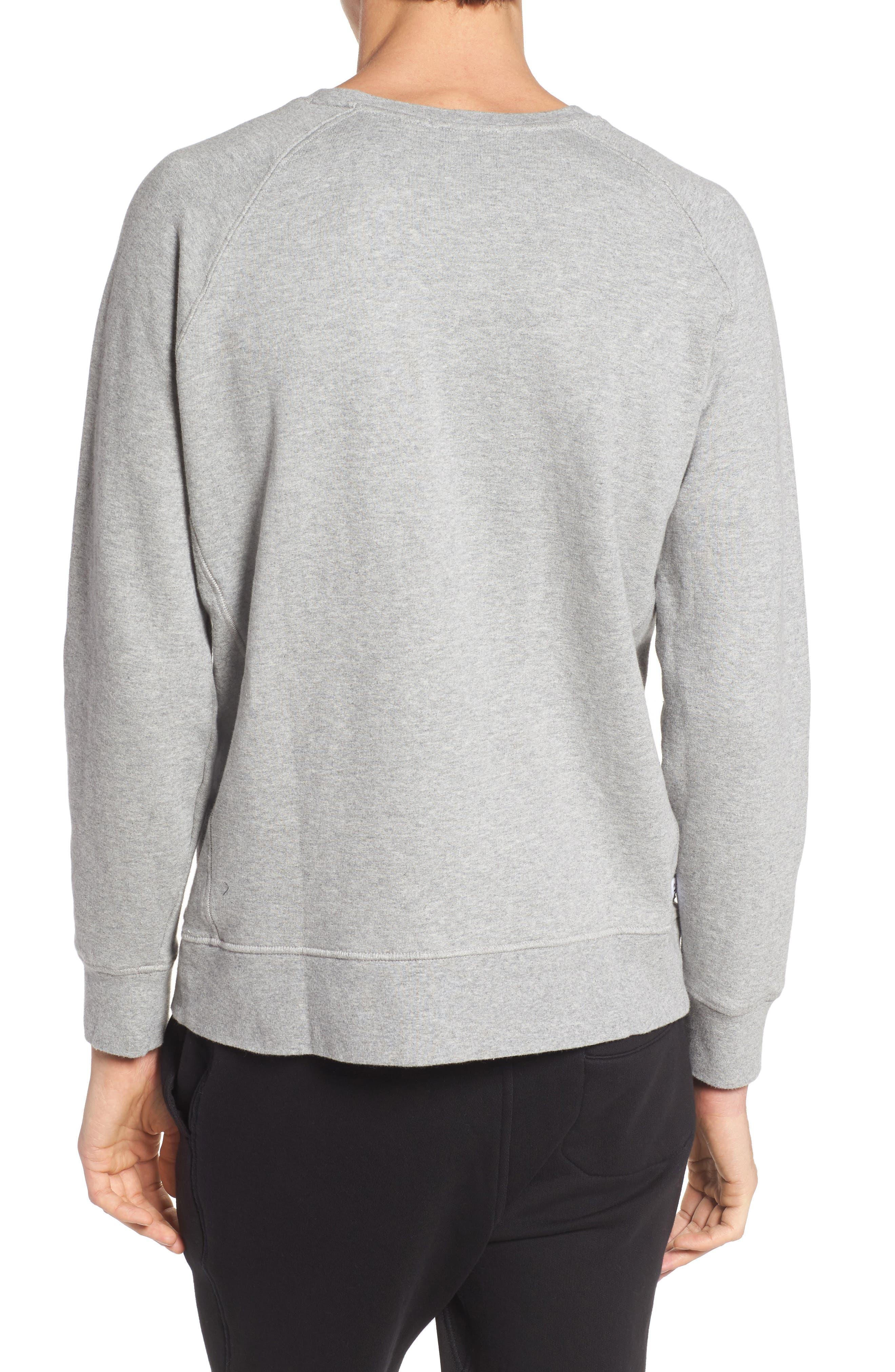 Alternate Image 2  - Richer Poorer Lounge Crewneck Sweatshirt