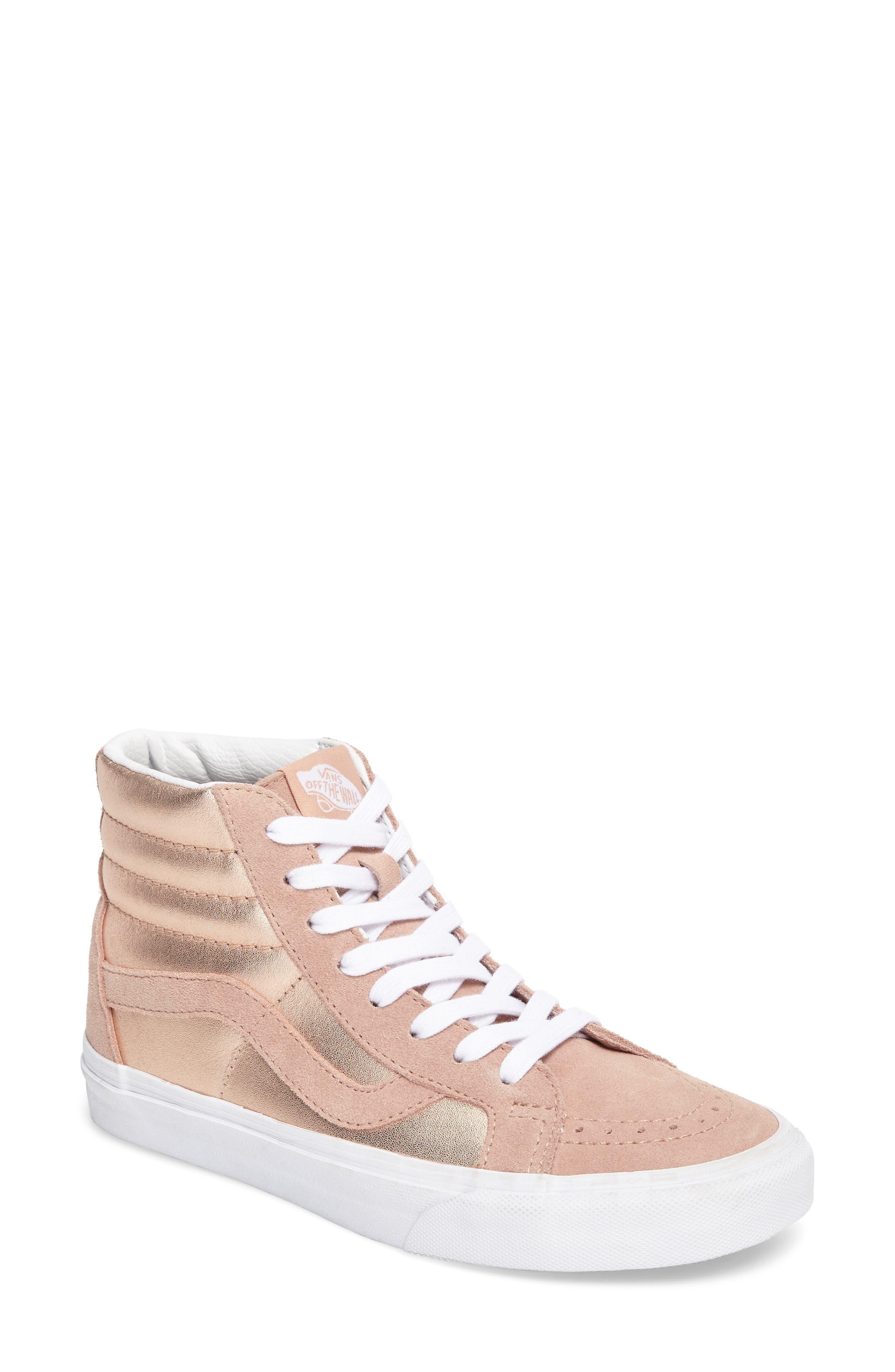 Alternate Image 1 Selected - Vans 'Sk8-Hi Reissue' Sneaker (Women)