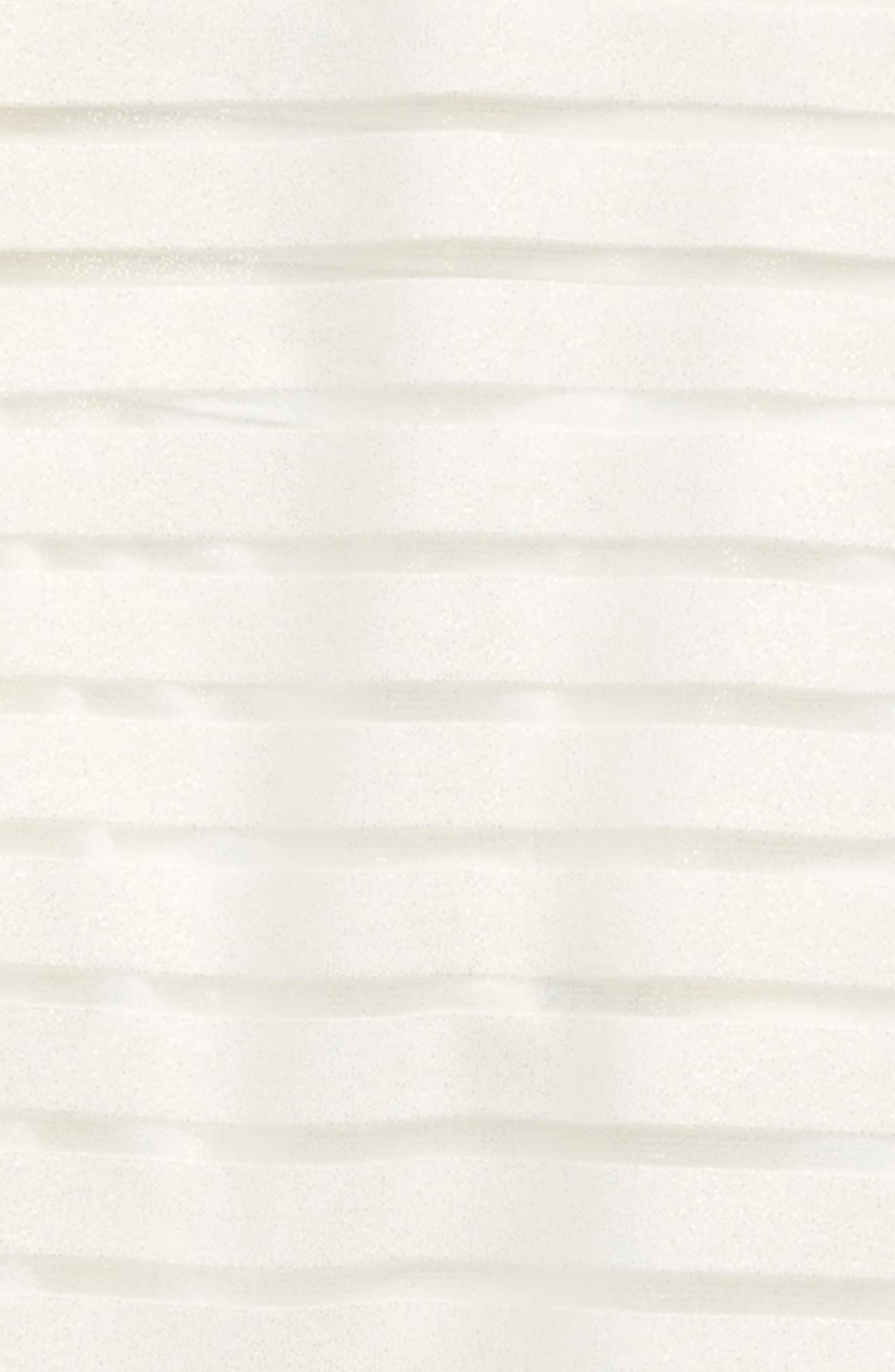 Mock Neck Burnout Top,                             Alternate thumbnail 2, color,                             White