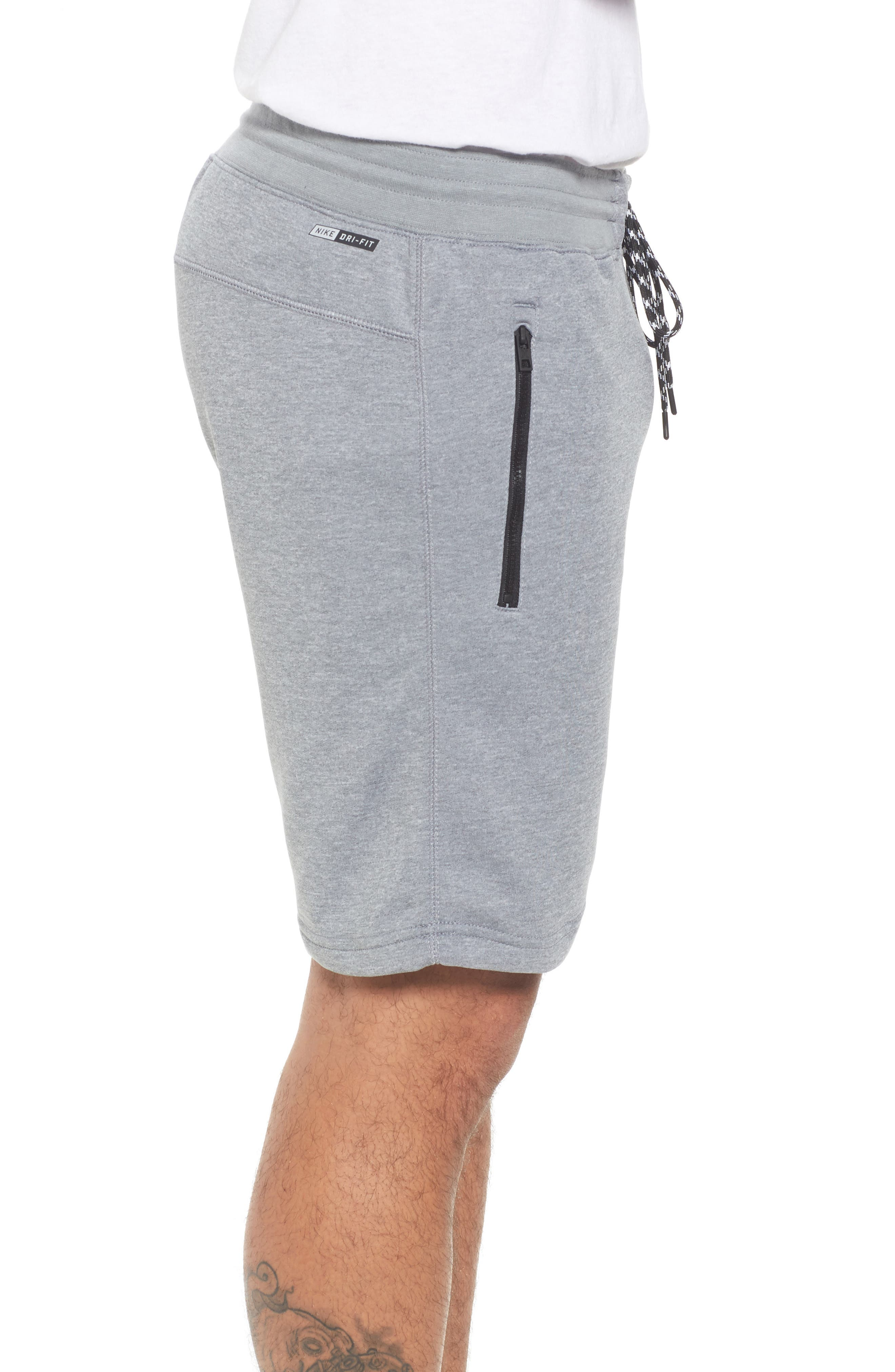 Dri-FIT Solar Shorts,                             Alternate thumbnail 3, color,                             Cool Grey