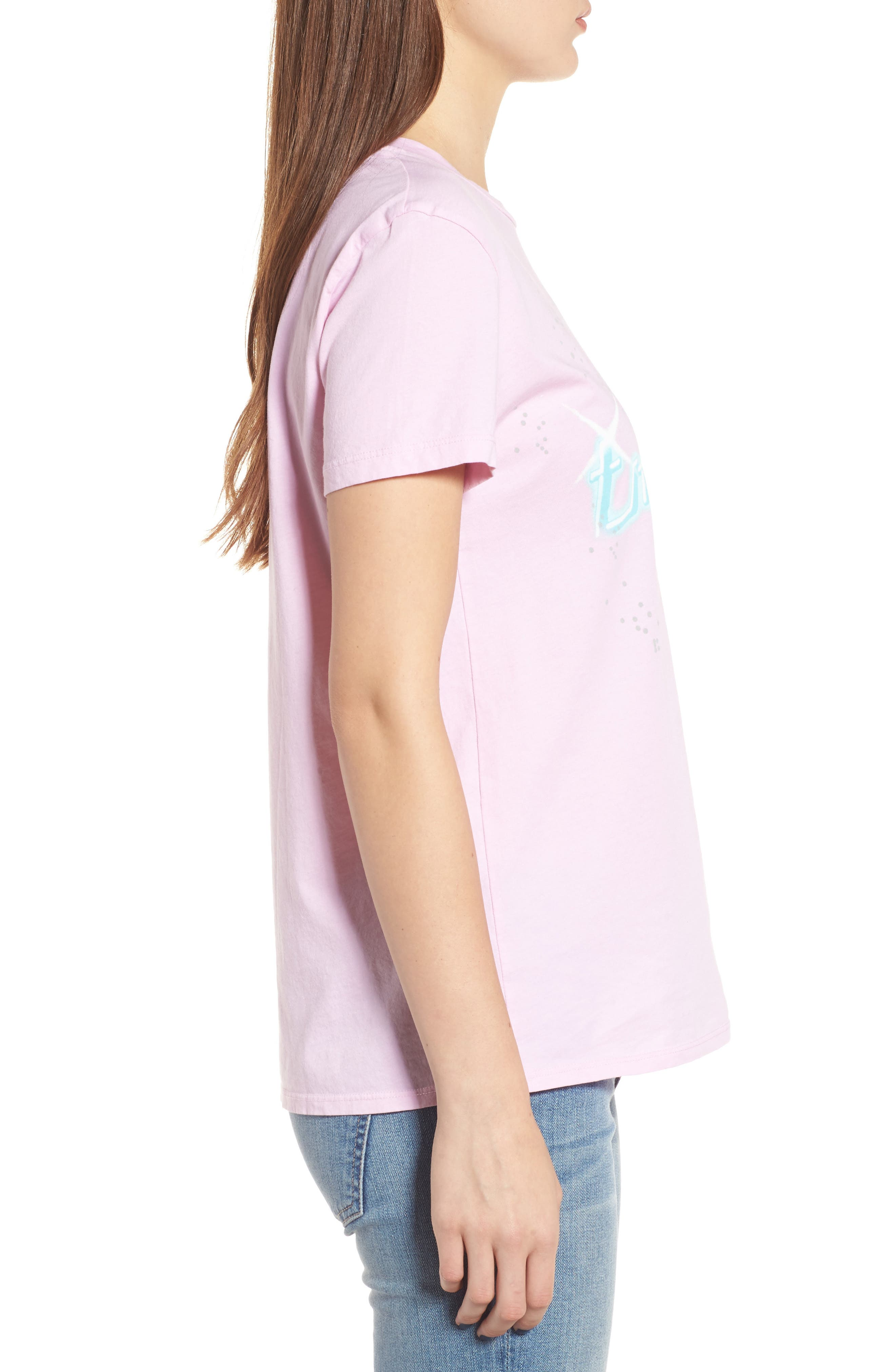 Day Tripper Tee,                             Alternate thumbnail 3, color,                             Blushing Mermaid