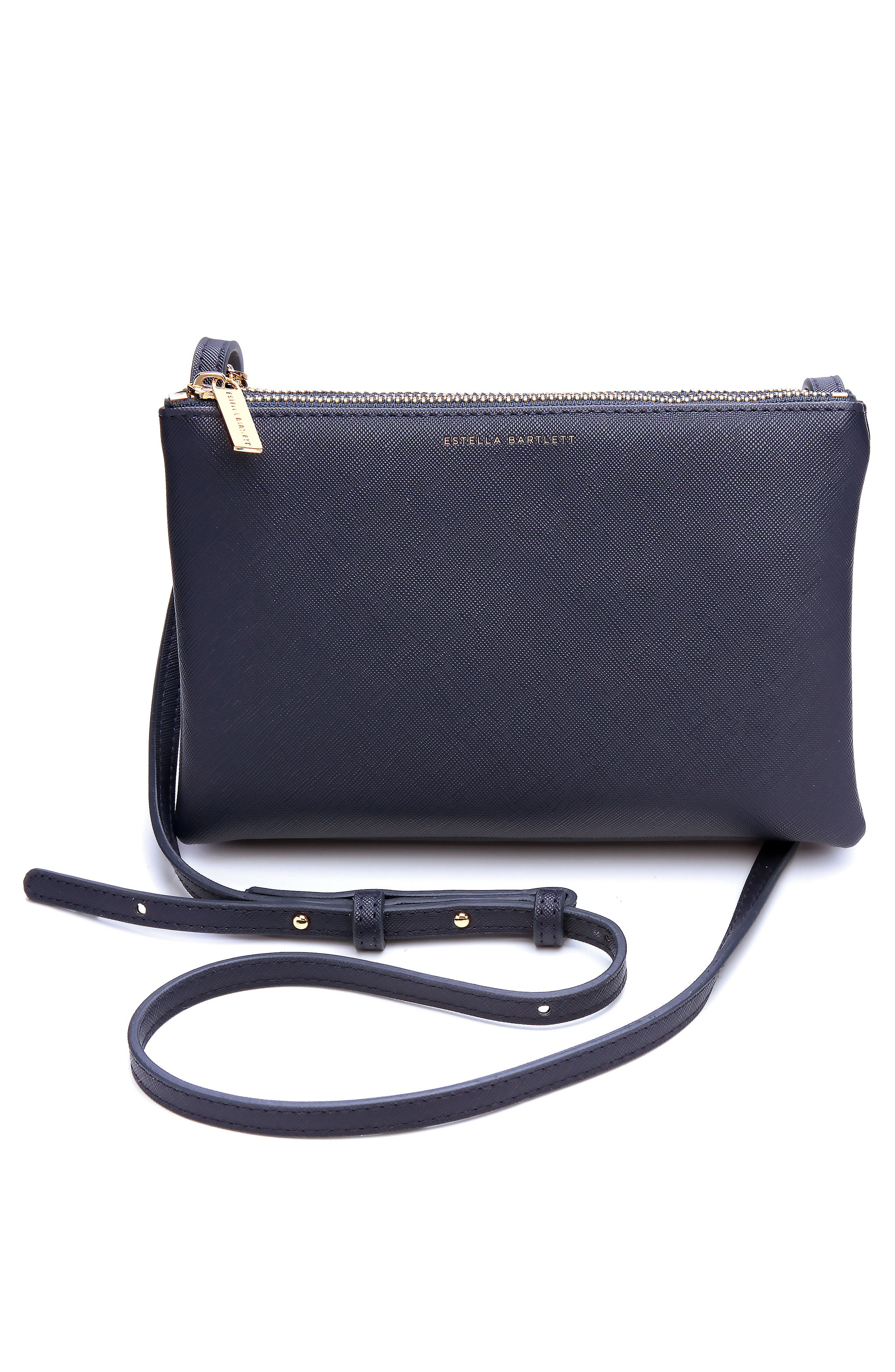 Main Image - Estella Bartlett Double Faux Leather Crossbody Bag