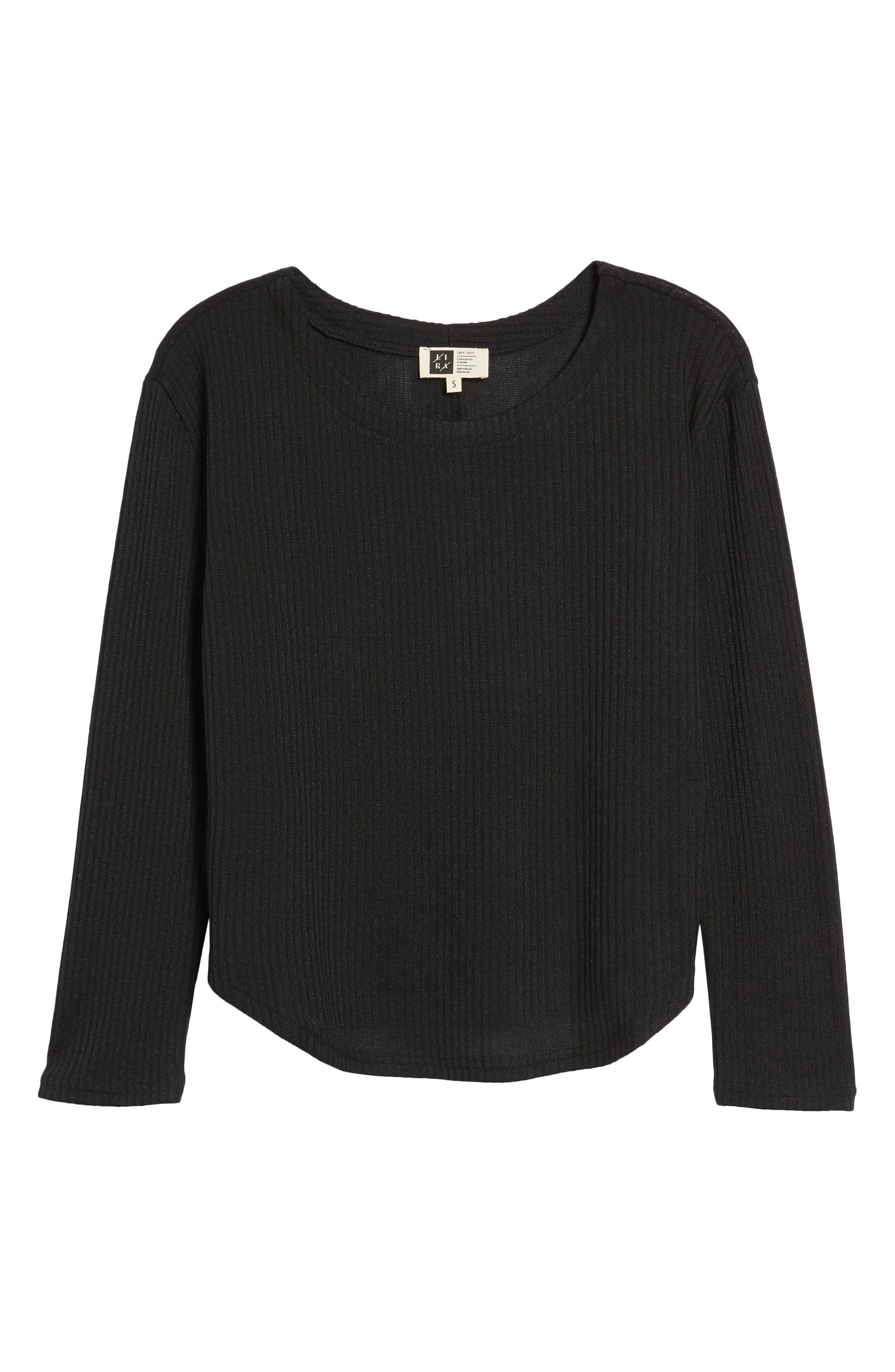 Sparrow Thermal Top,                             Alternate thumbnail 6, color,                             Black