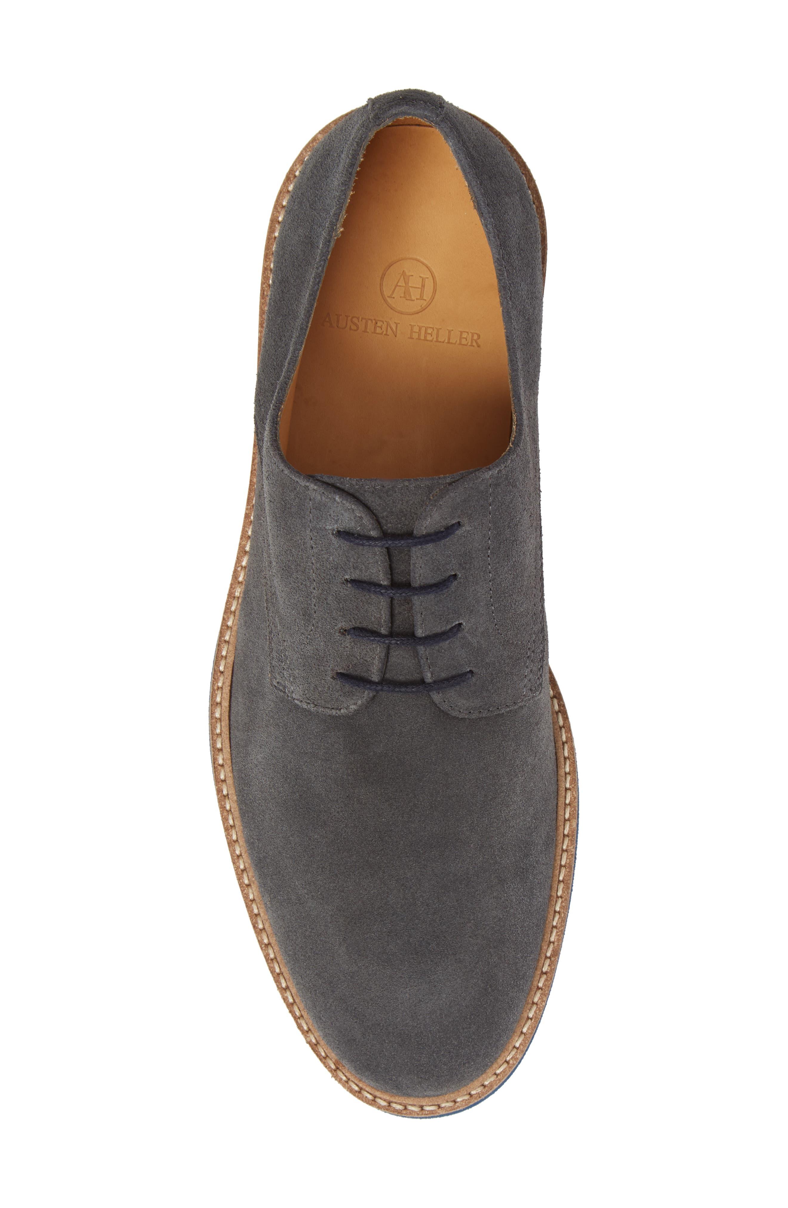 Buck Shoe,                             Alternate thumbnail 5, color,                             Grey Suede