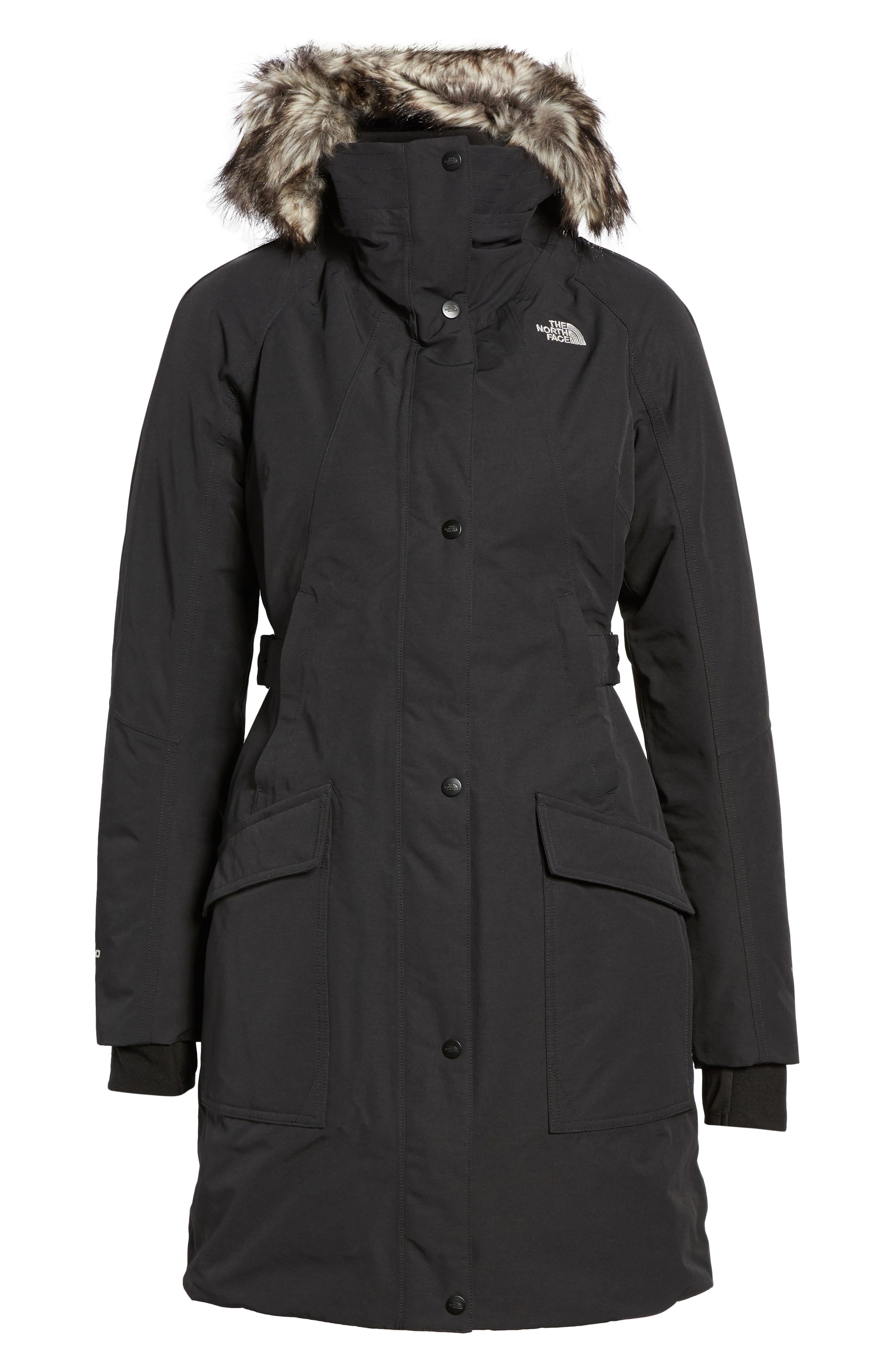 Alternate Image 6  - The North Face Outer Boroughs Waterproof 550-Fill Power Down Parka with Faux Fur Trim
