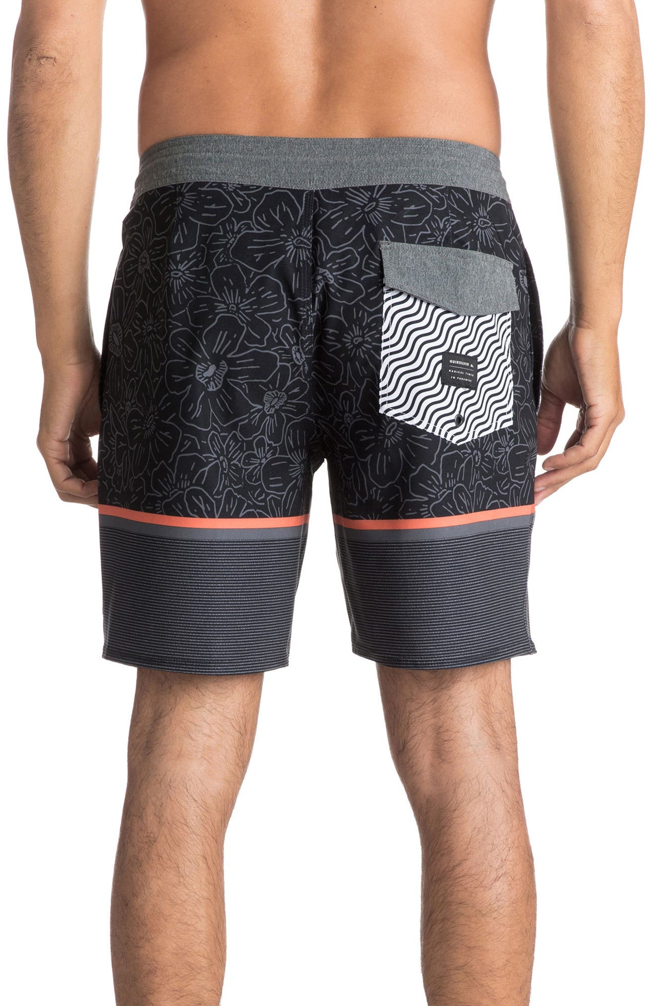 Alternate Image 2  - Quiksilver Electric Hippy Board Shorts