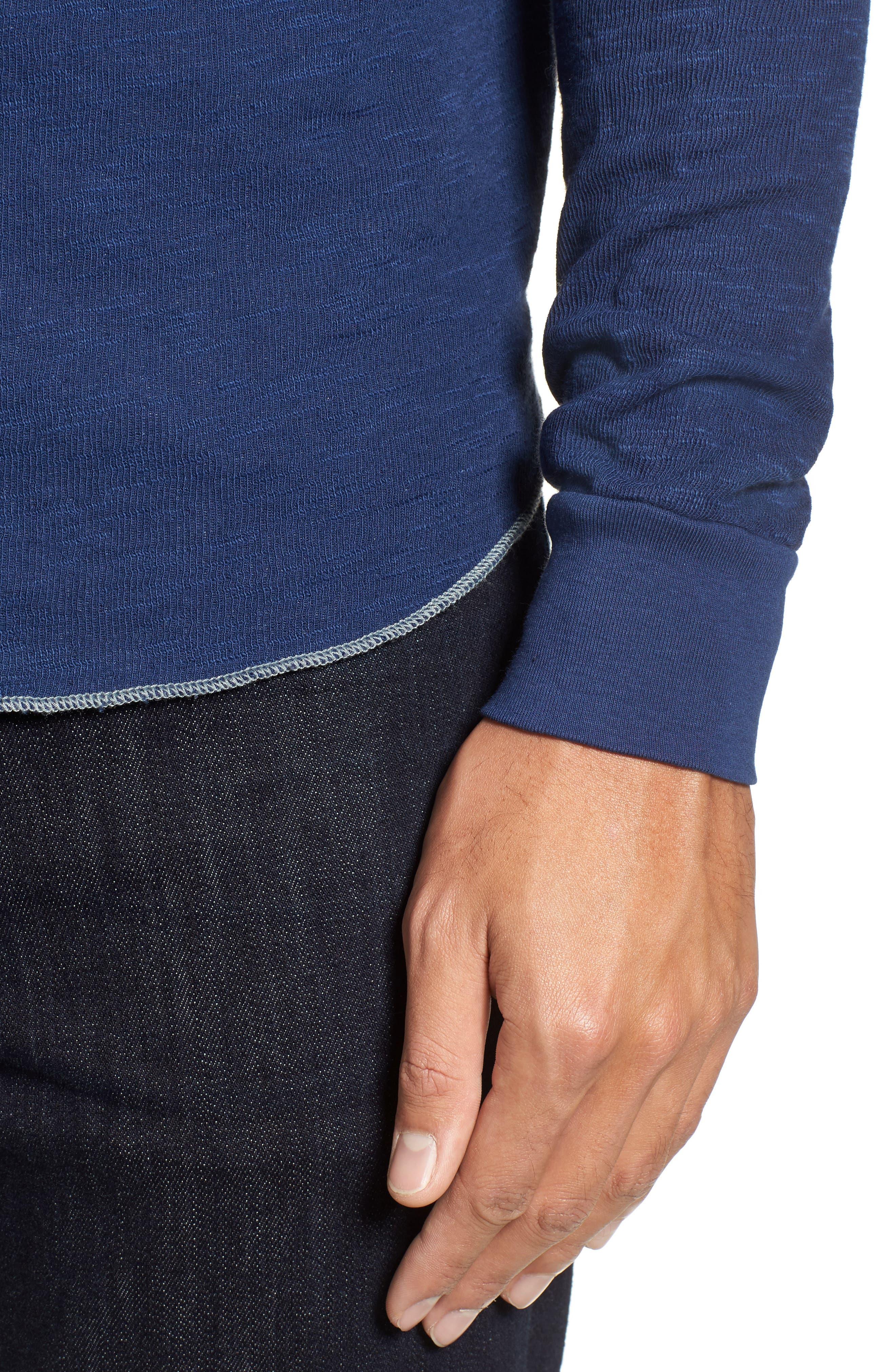 Alternate Image 4  - Goodlife Double Layer Slim Crewneck T-Shirt