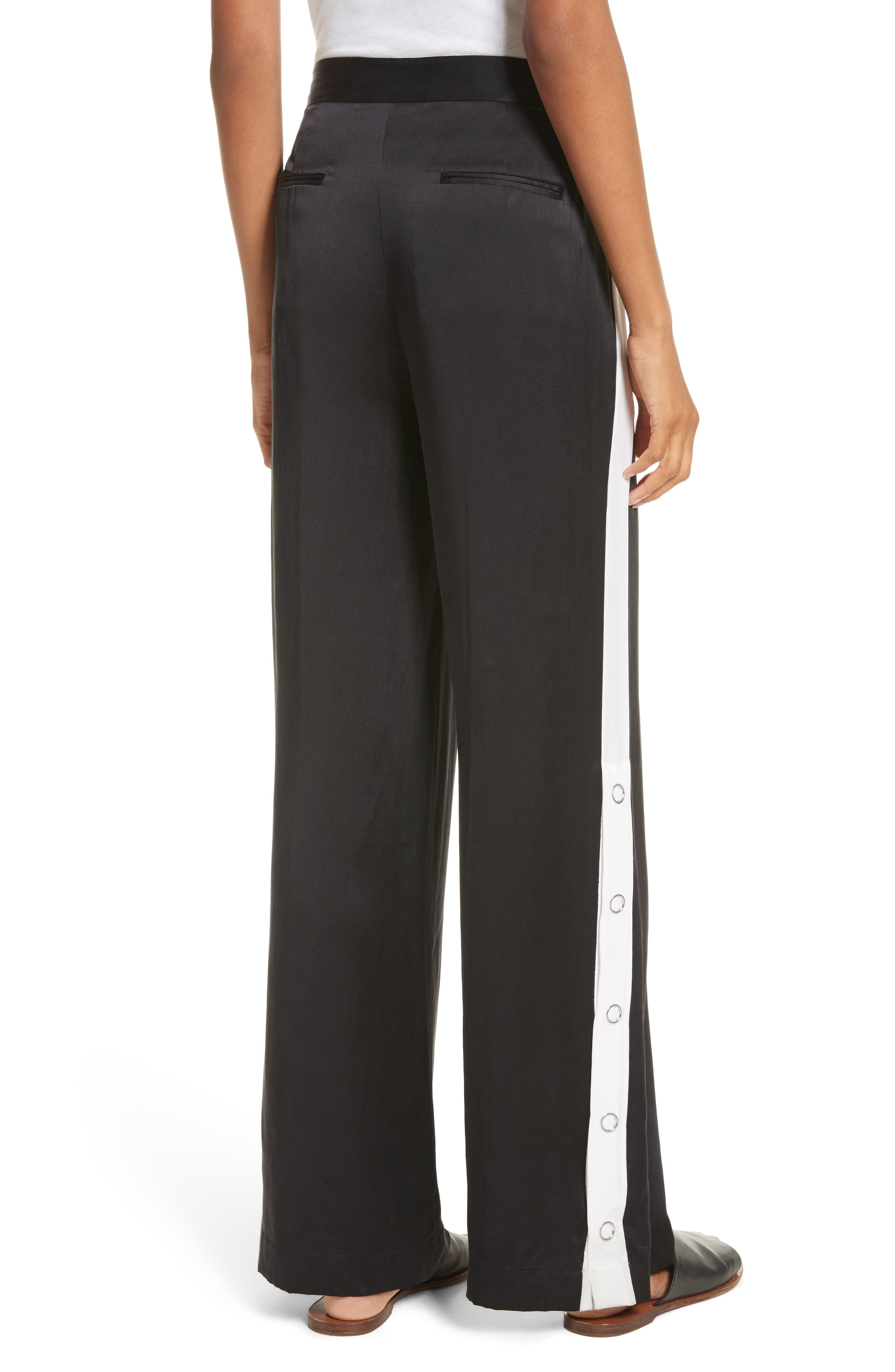 Alternate Image 2  - Equipment Arwen Wide Leg Silk Pants