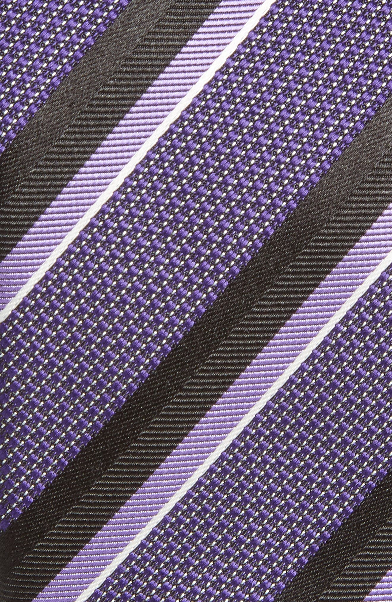 Alternate Image 2  - BOSS Stripe Silk Tie
