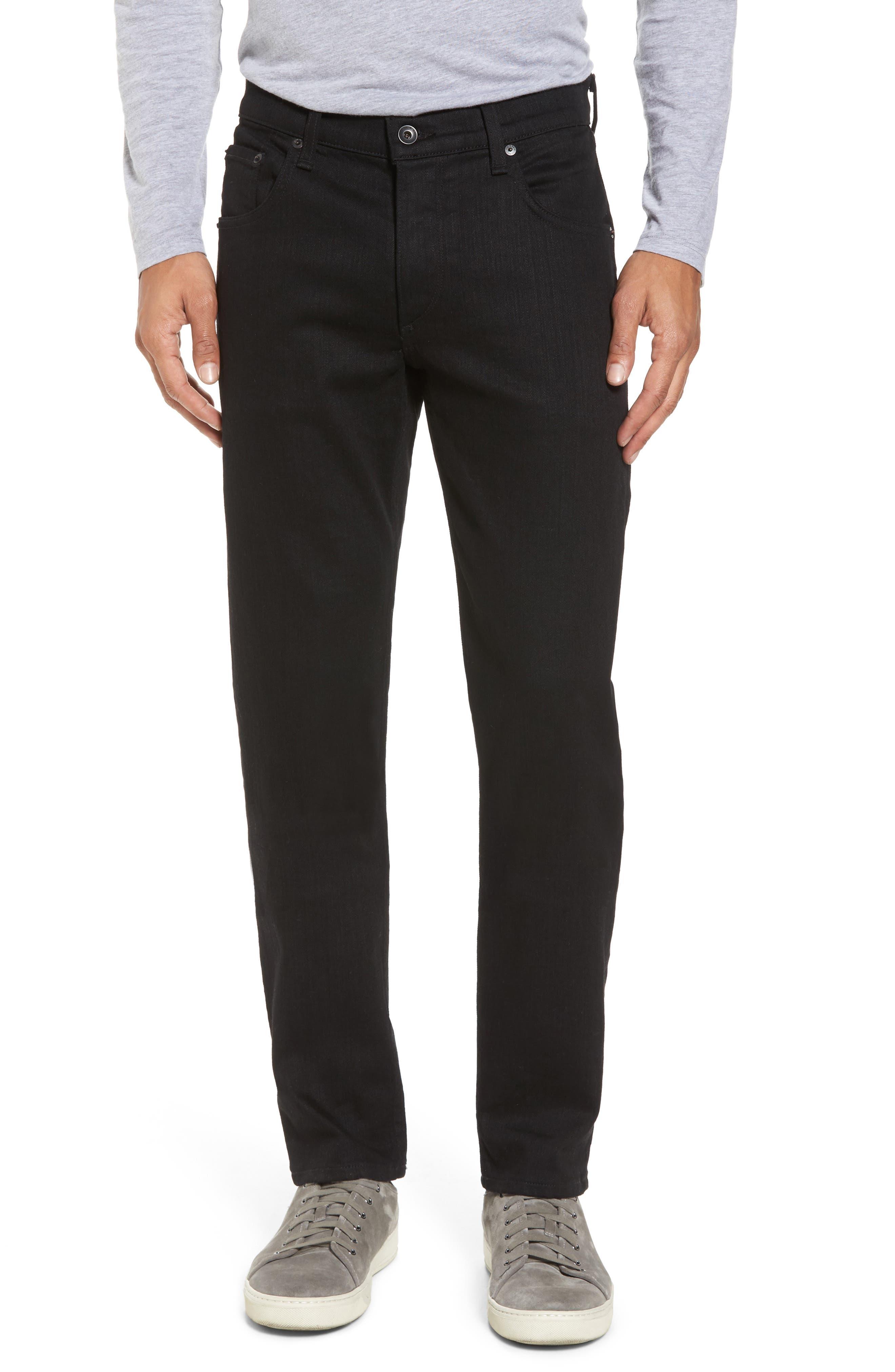 Fit 2 Slim Fit Jeans,                         Main,                         color, Black