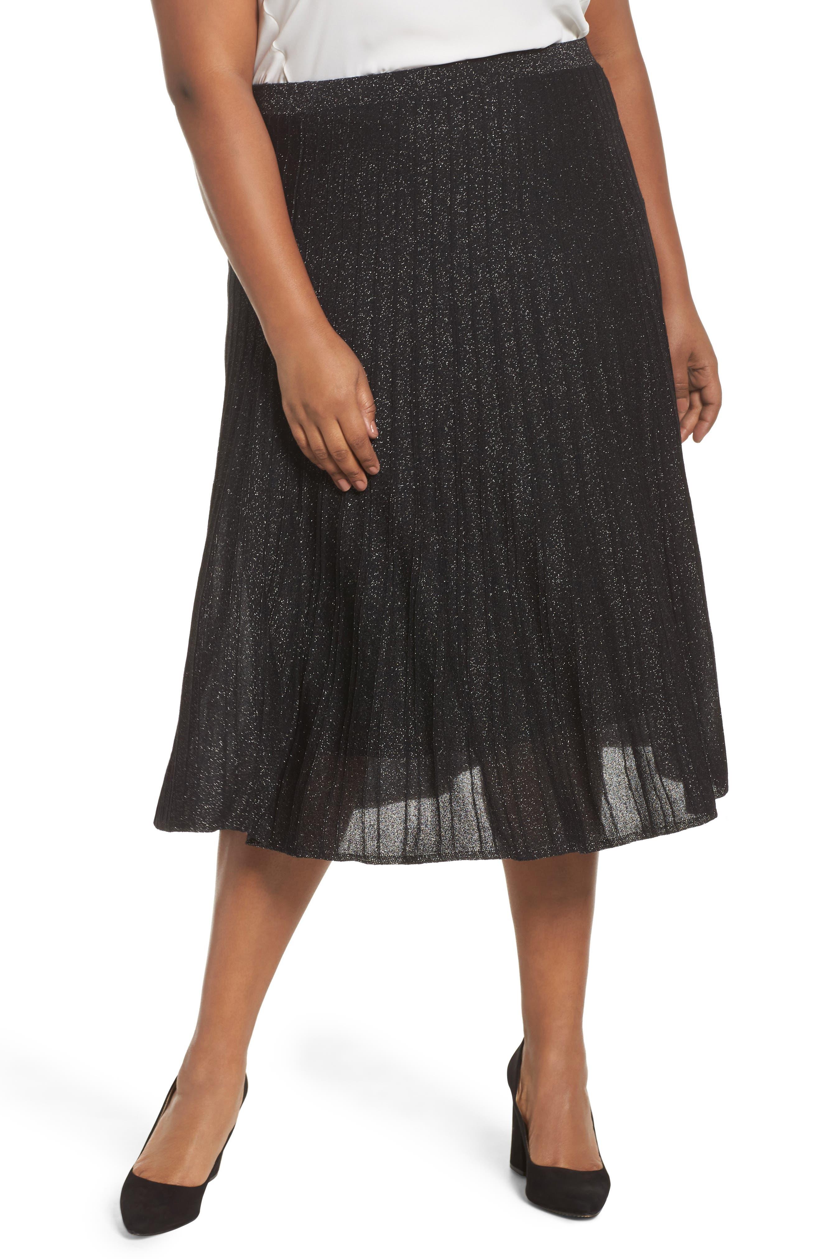 Luminary Skirt,                             Main thumbnail 1, color,                             Black Mix